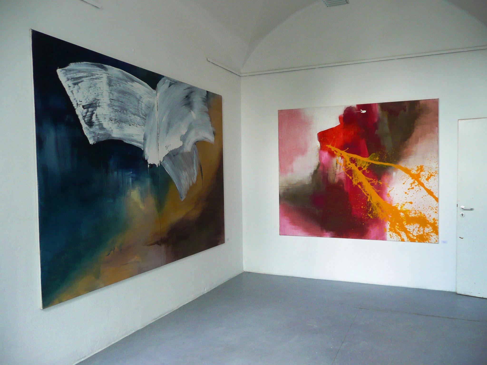 """Ausstellungsansicht """"Sommerausstellung"""", Freie Kunstakademie Mannheim 2010"""