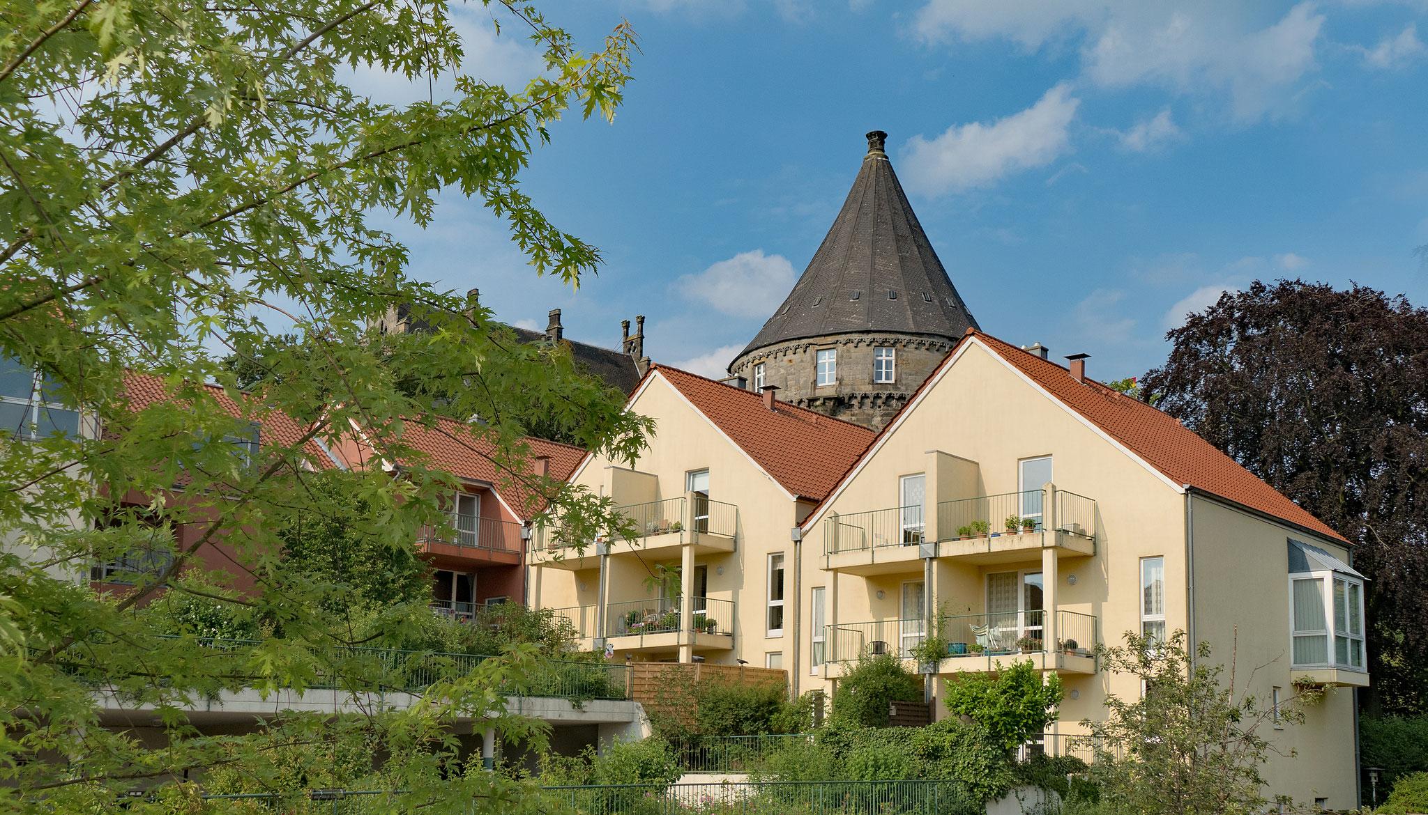 Wohnanlage Bellevue in der Schlossstraße in Bad Bentheim