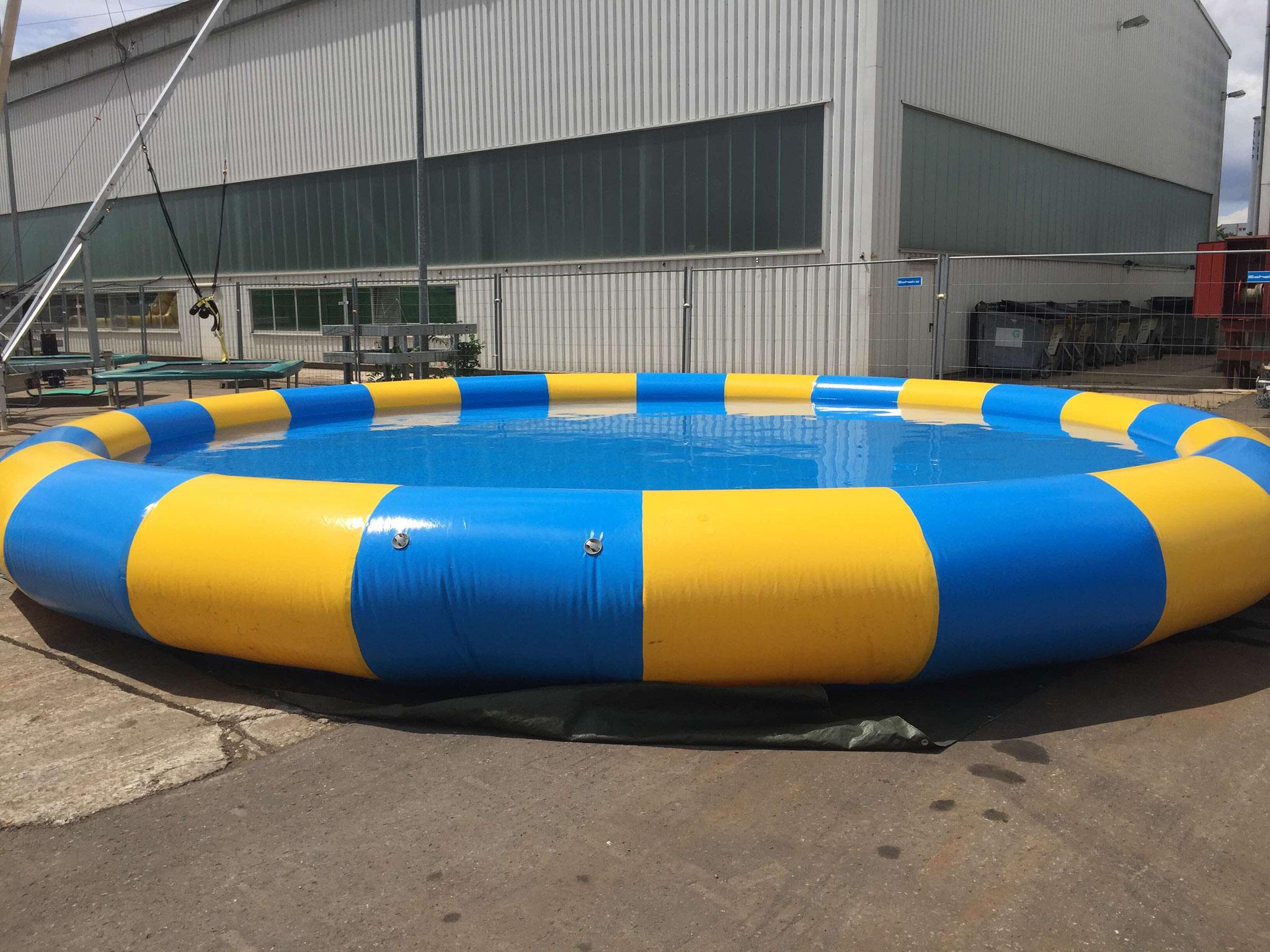 8 Meter Pool, Durchmesser 8x2,5 Meter