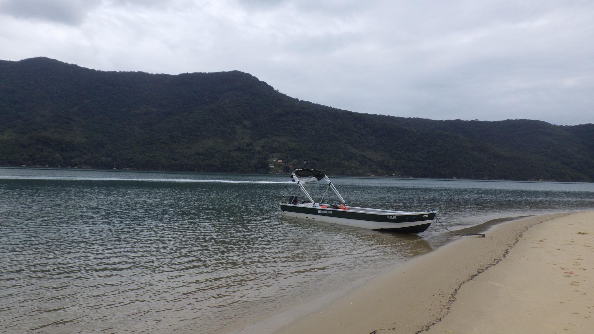 Le bateau du pêcheur