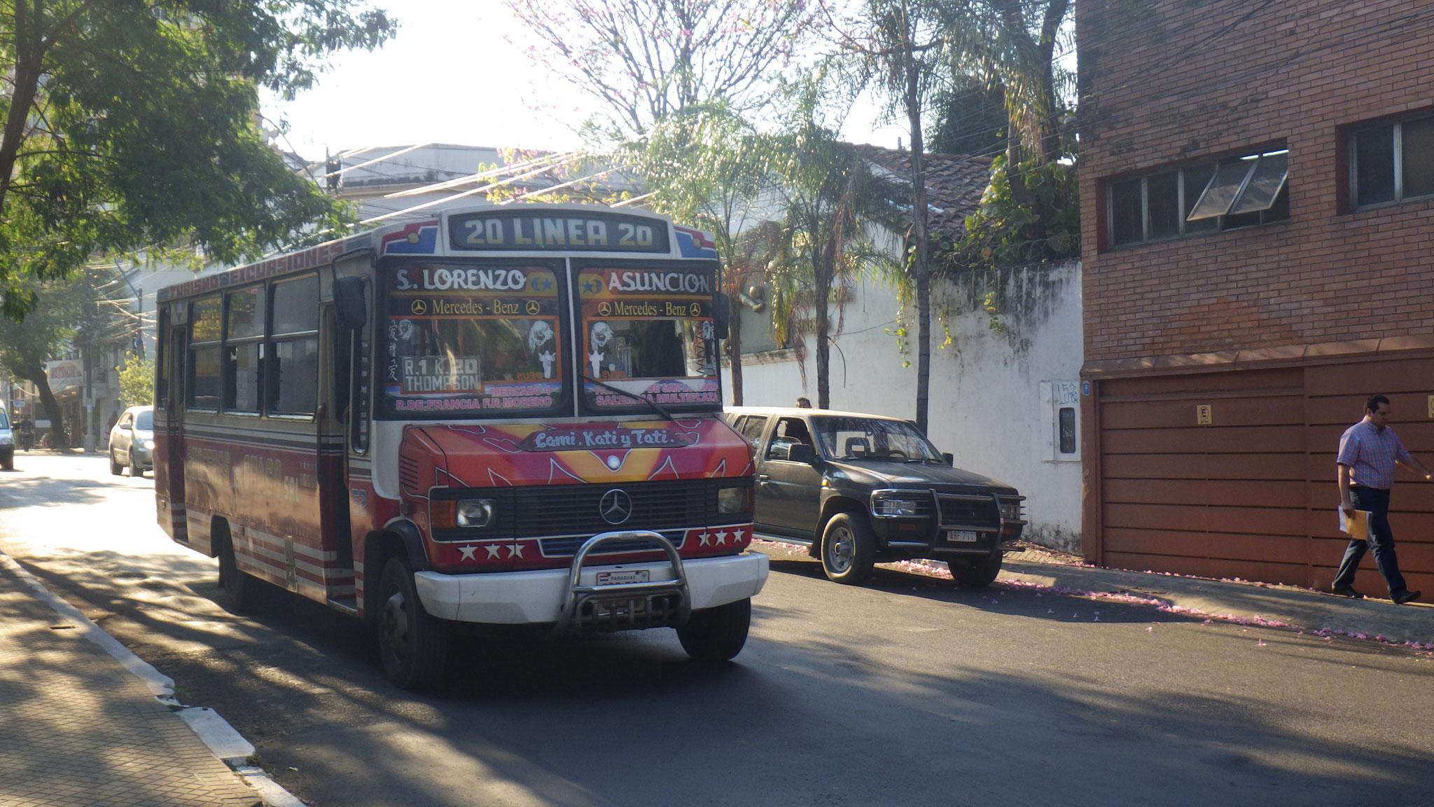 Bus du Paraguay