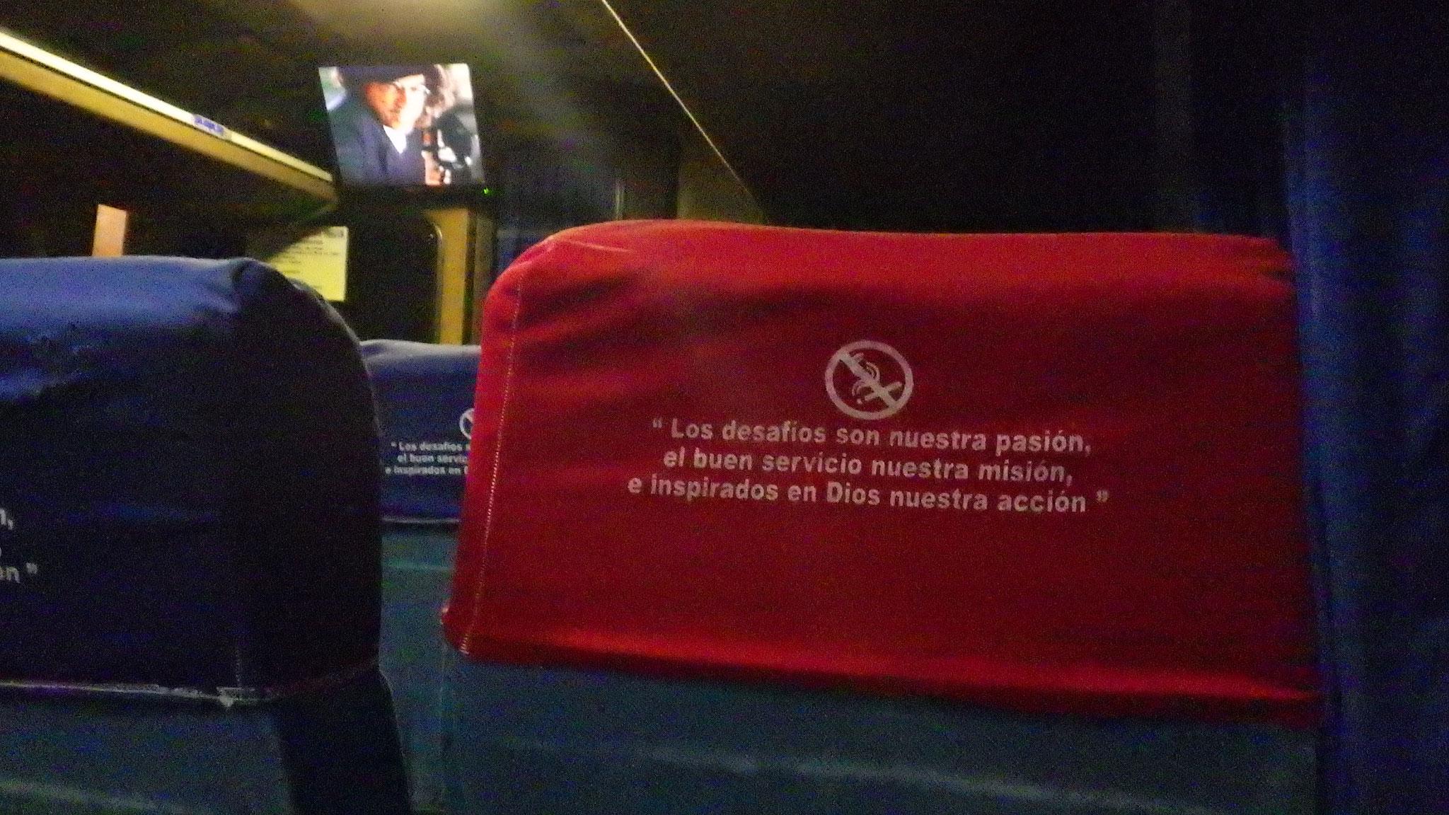 La tv dans les bus