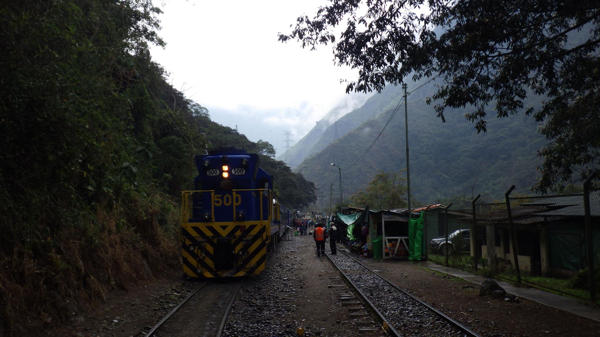 Train pour le Machu Picchu