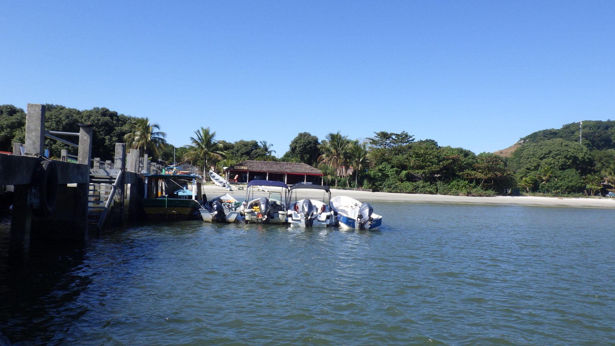 Tour en bateau à Ilha Do Mel
