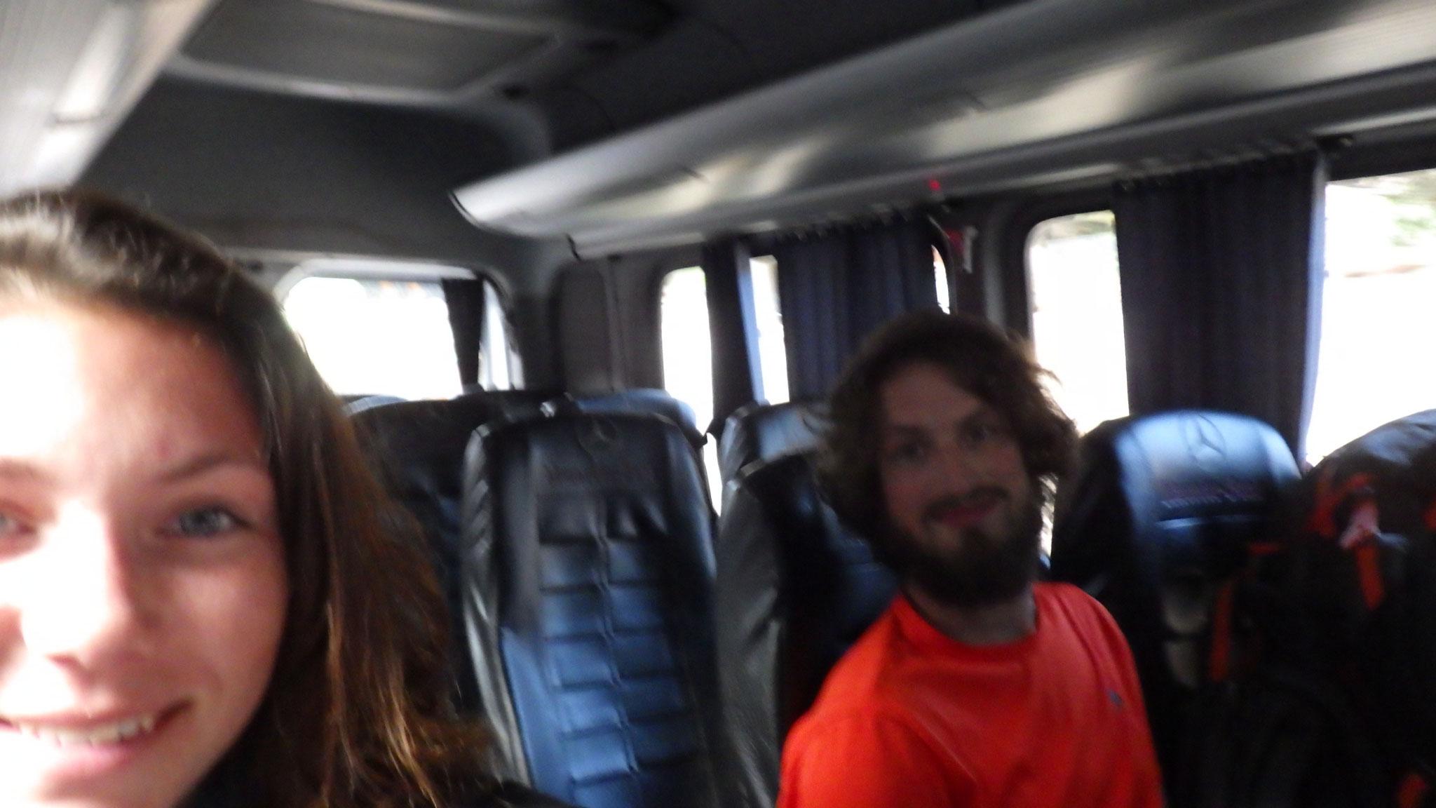 Tour en Microbus