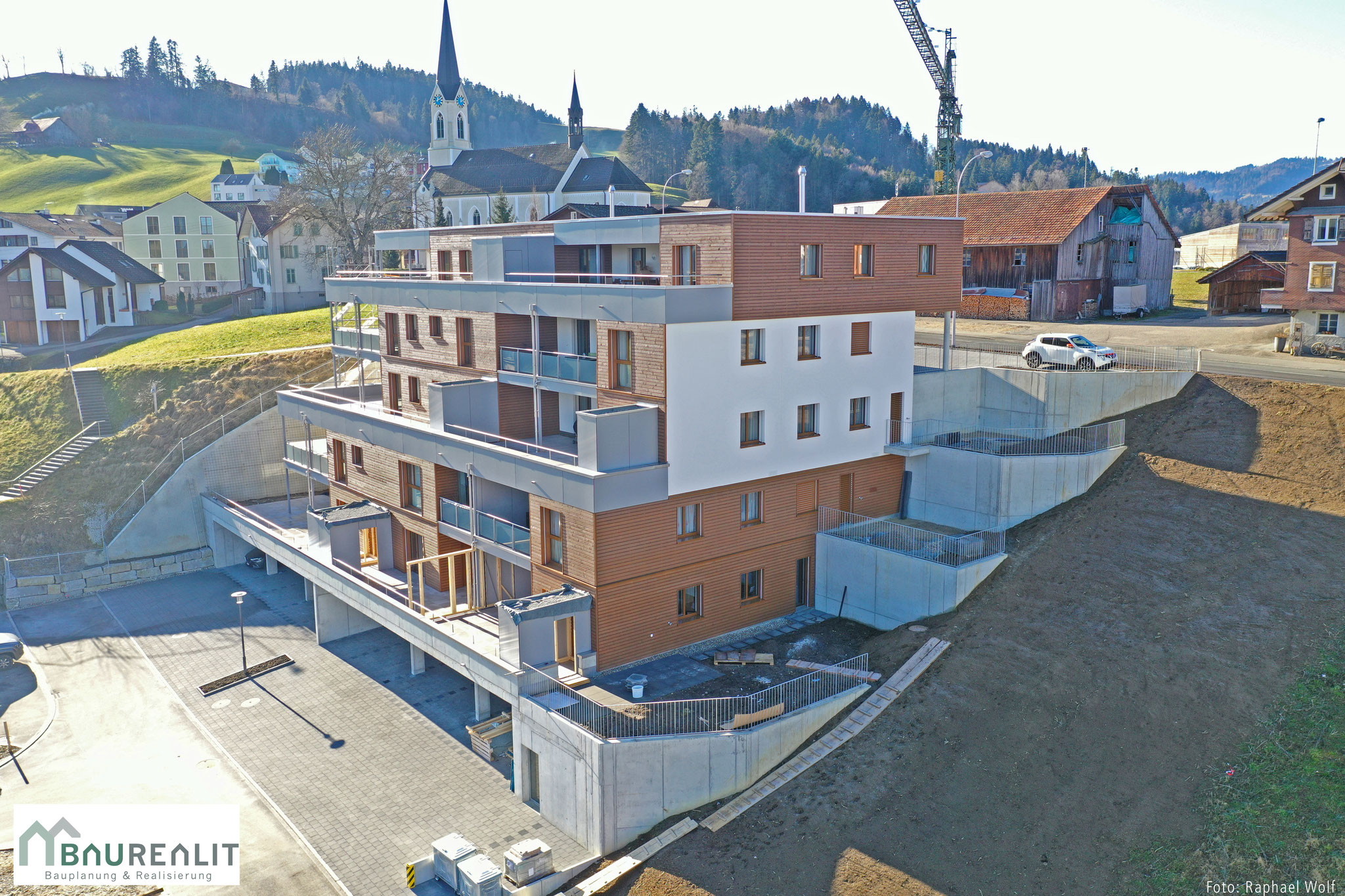 Neubau Mehrfamilienhaus Hinderchile, Doppleschwand