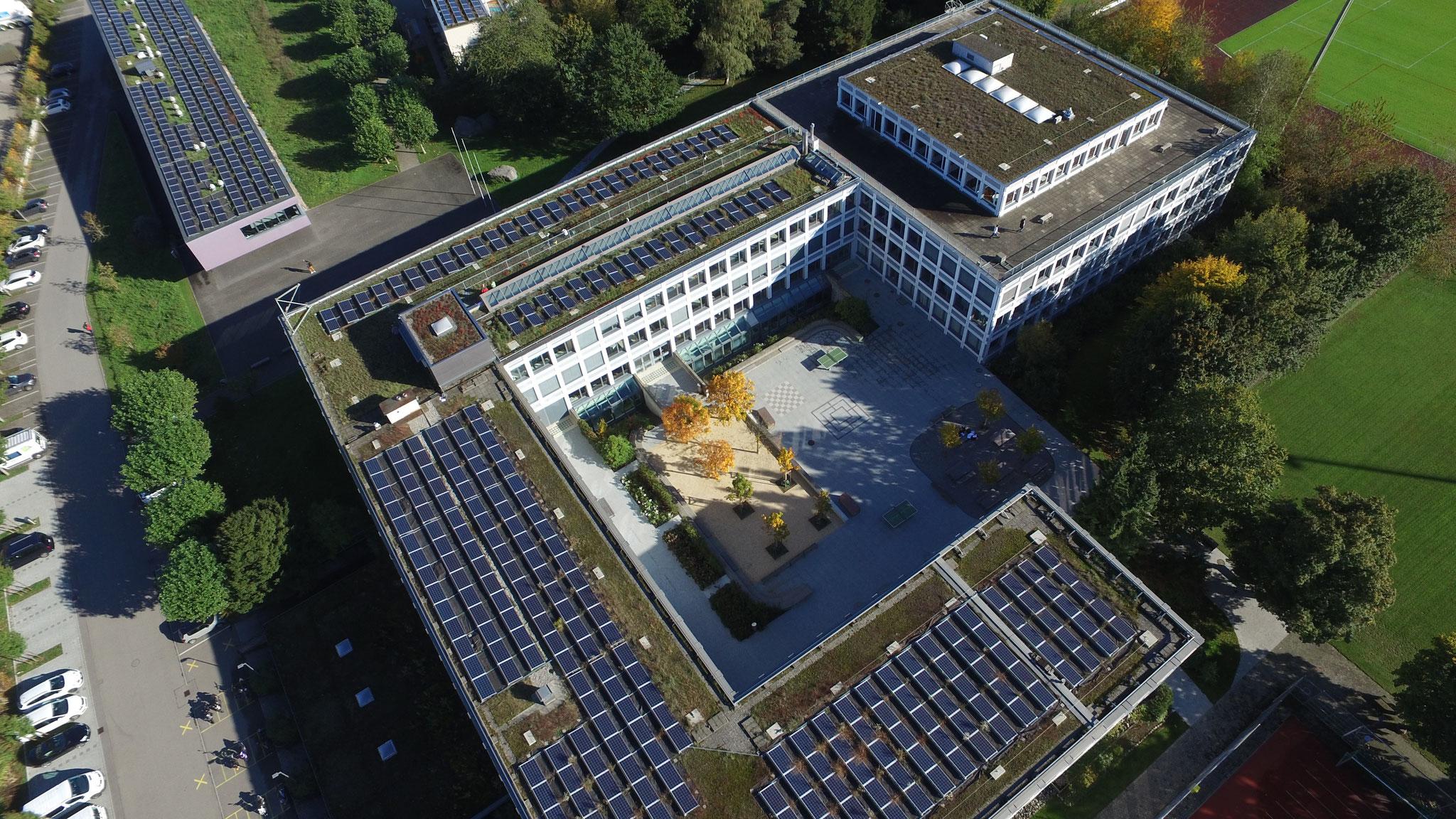 Gebäudeanalyse mit Sanierungsempfehlung, Kantonsschule Sursee