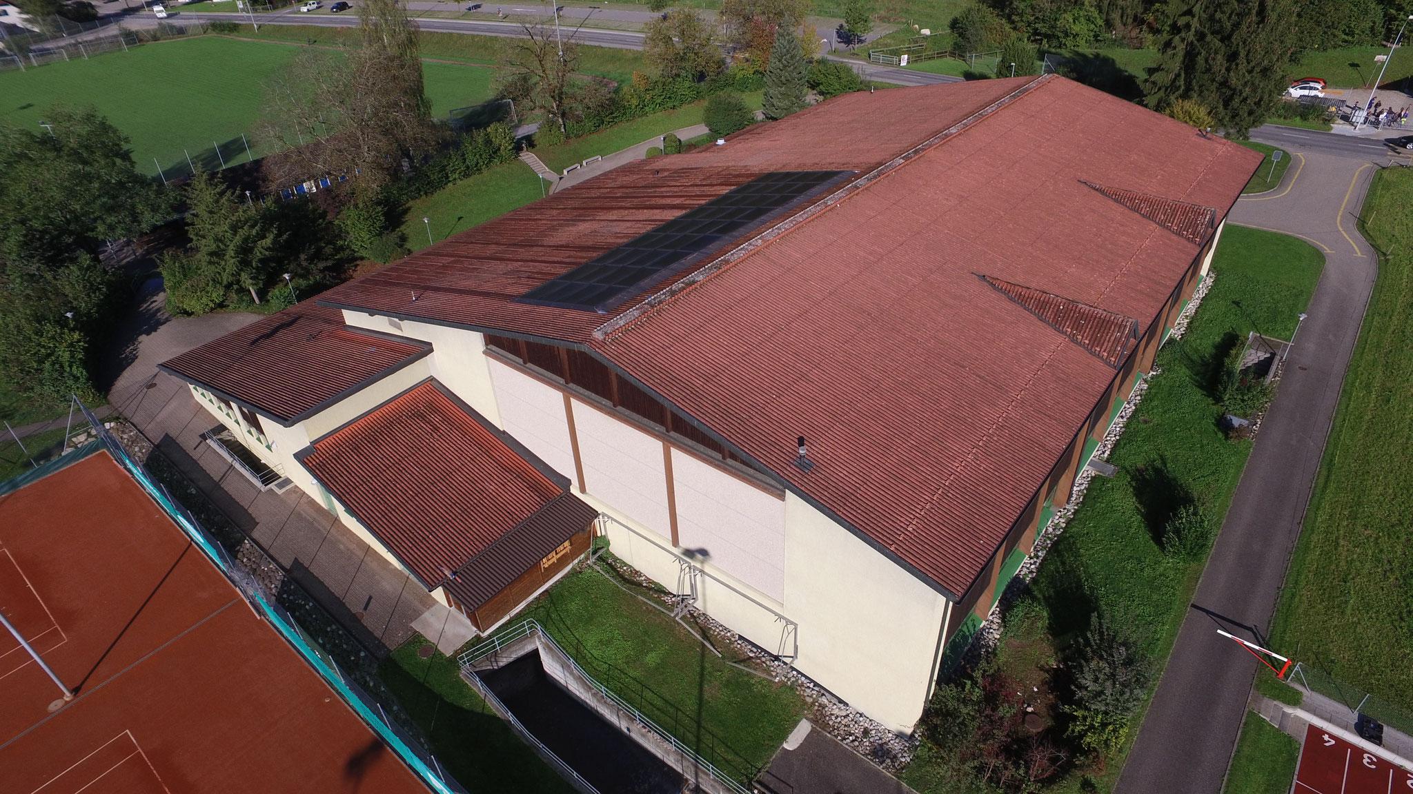 Gebäudeanalyse mit Sanierungsempfehlung, Sporthalle Oberei, Malters