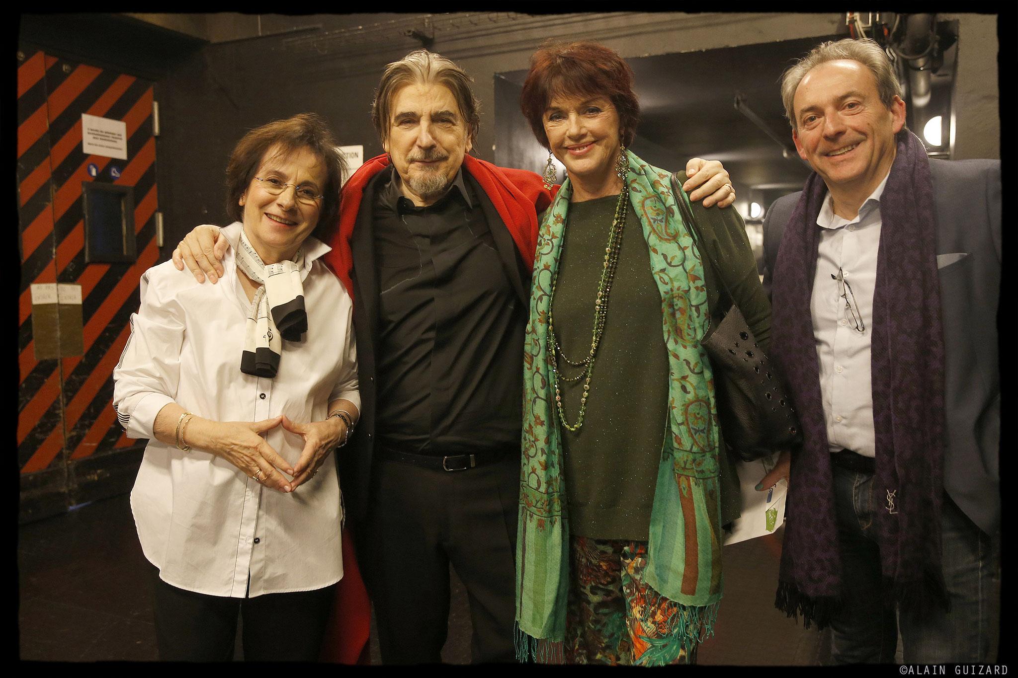 Marie Paule Belle, Serge Lama, Annie Duperey, Franck Cappilleri