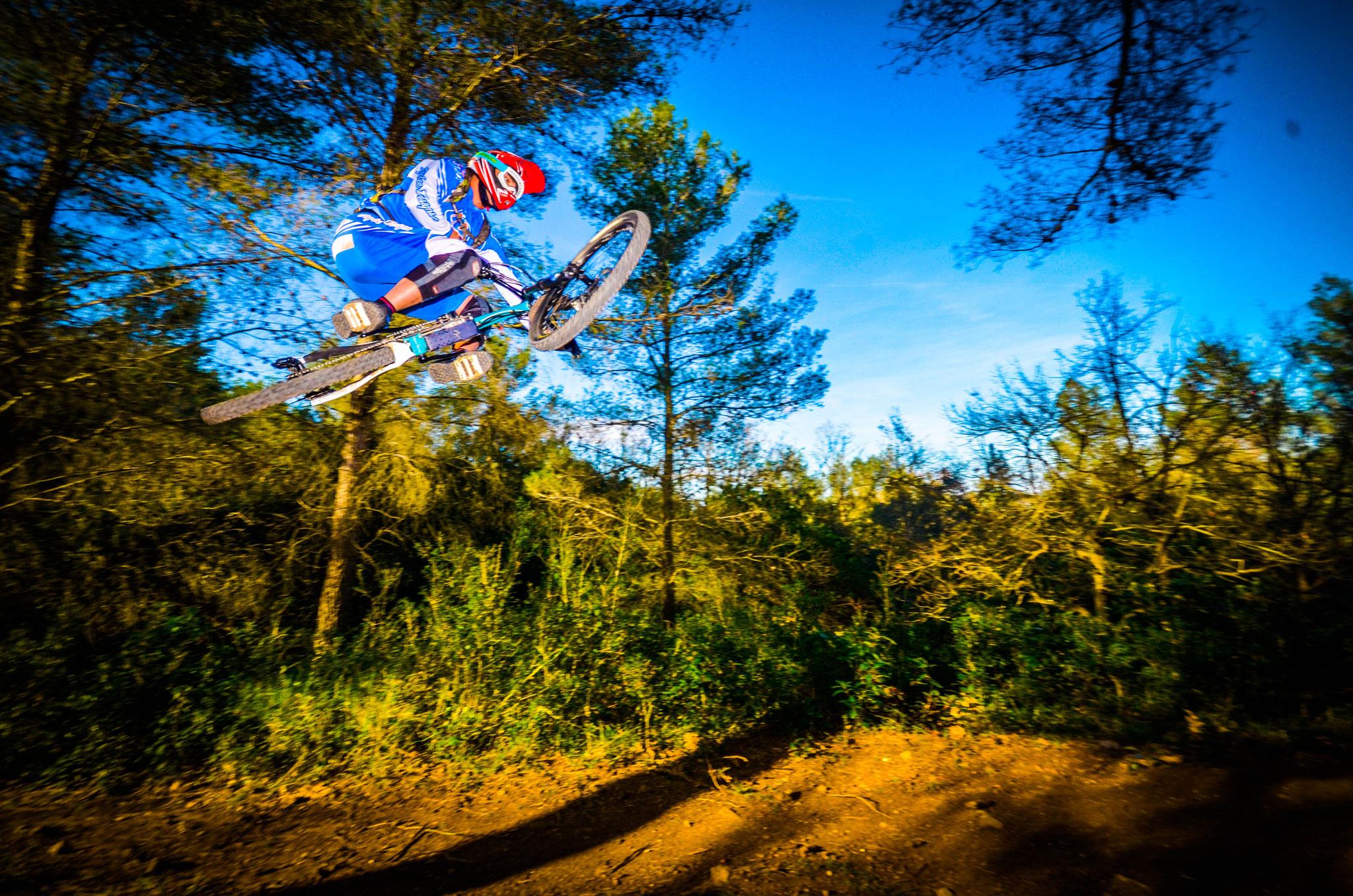 e bike jump