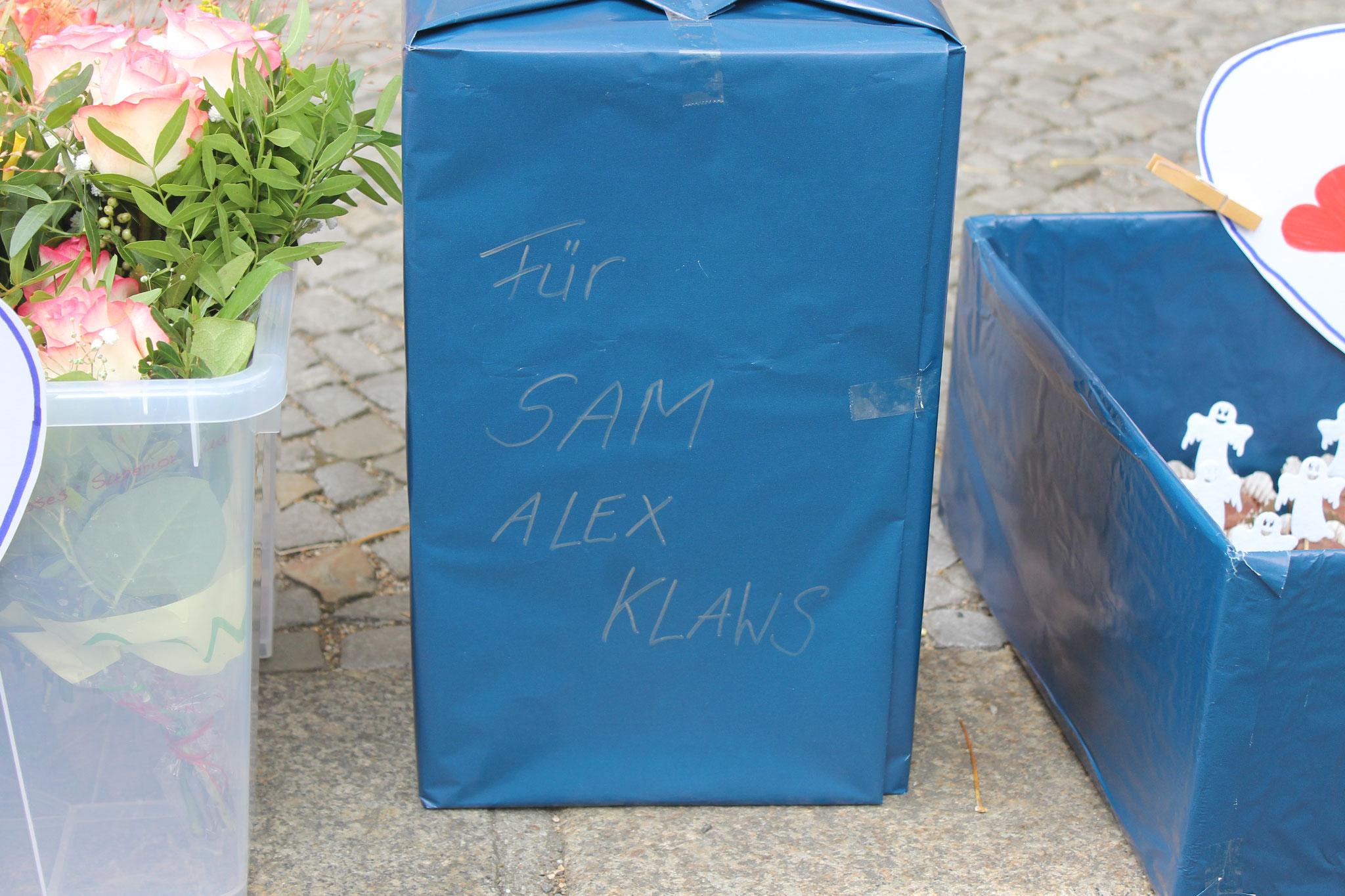 (c) off. Alexander Klaws Fanclub - Geschenk für Alex