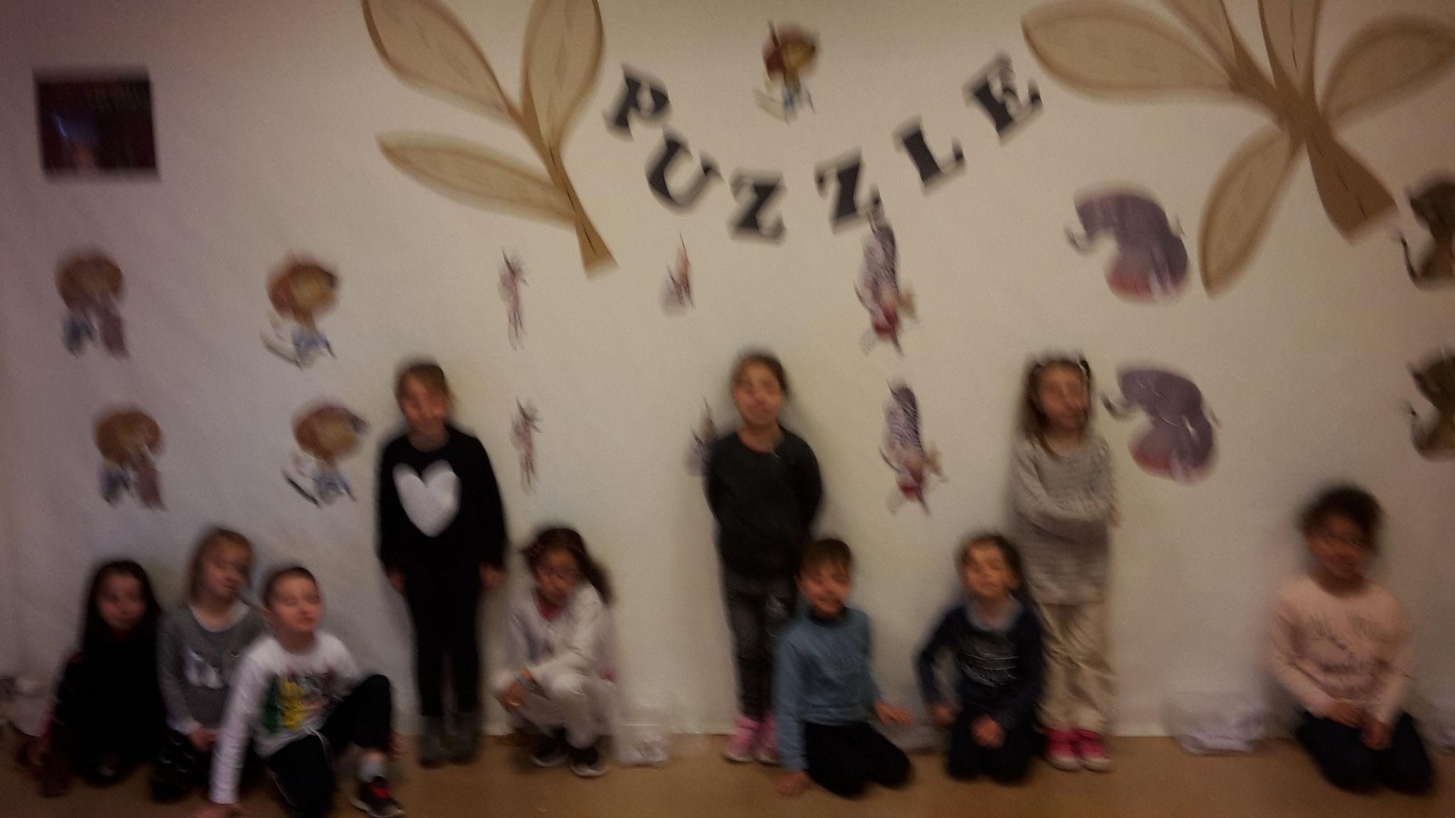 Les enfants créent au festival