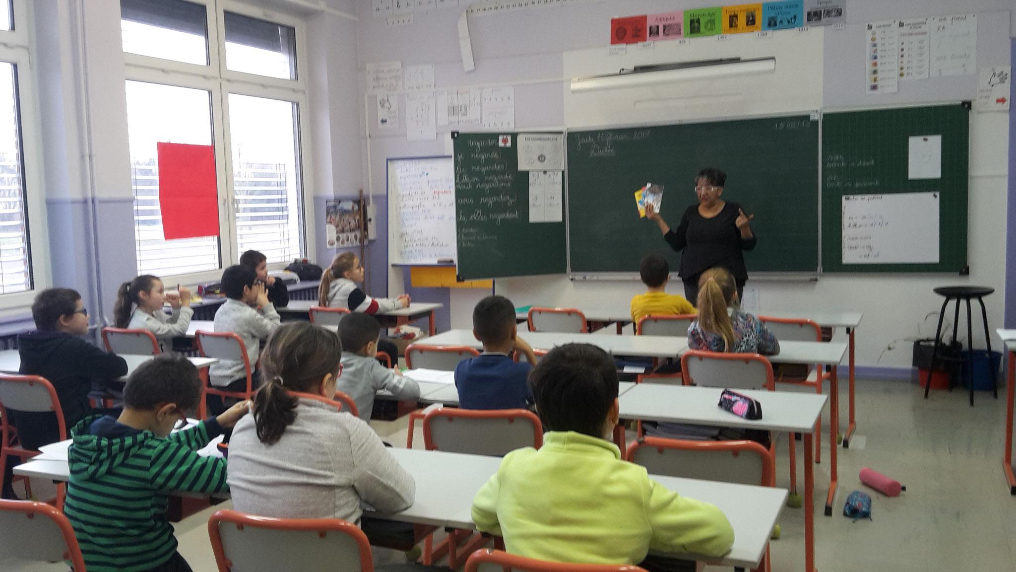 Ecole primaire Marie curie débat