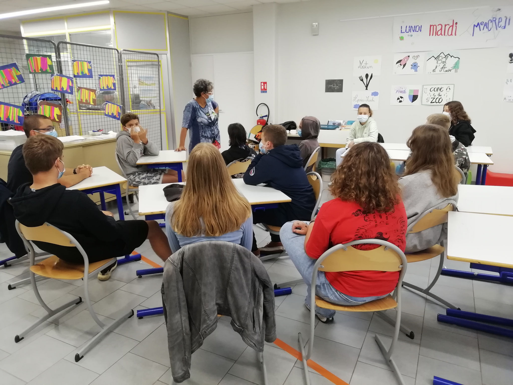 Atelier slam ados  granges  pôle culturel juillet 2021