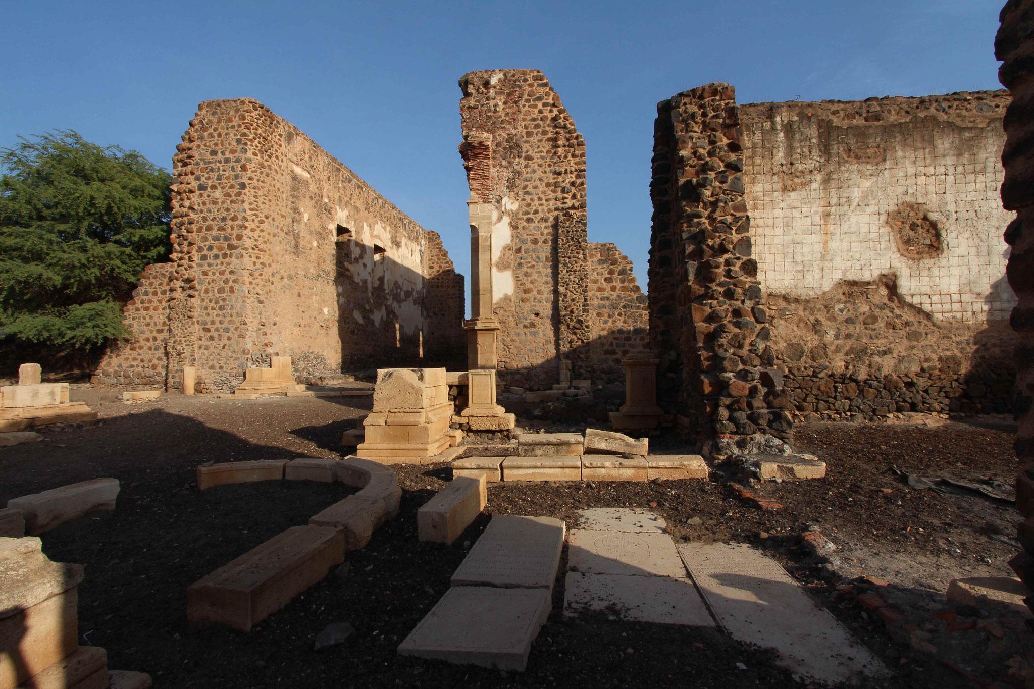 Santiago - Cidade Velha - Ruine Catedral da Se