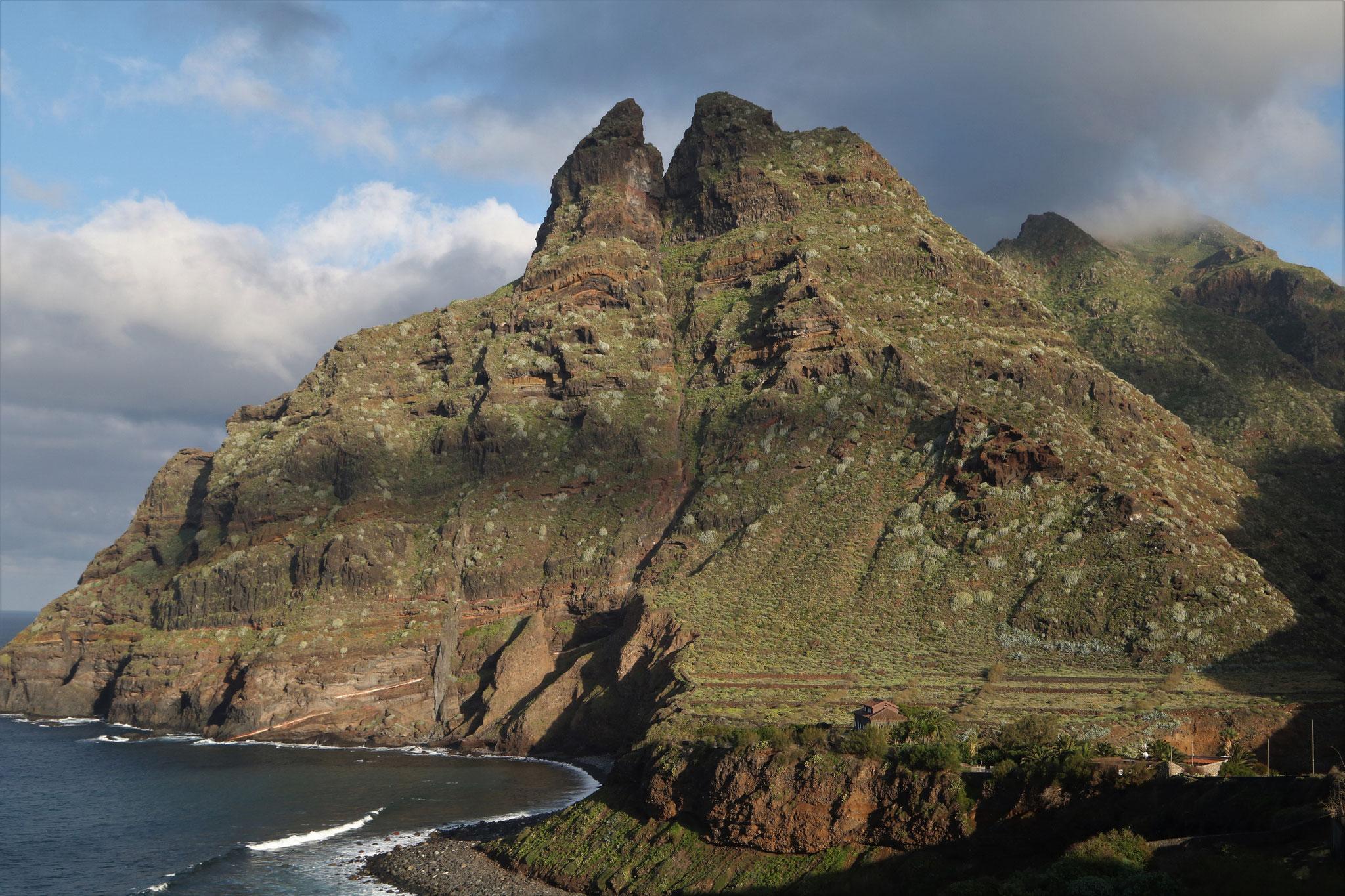 Landschaft am Punta Hidalgo