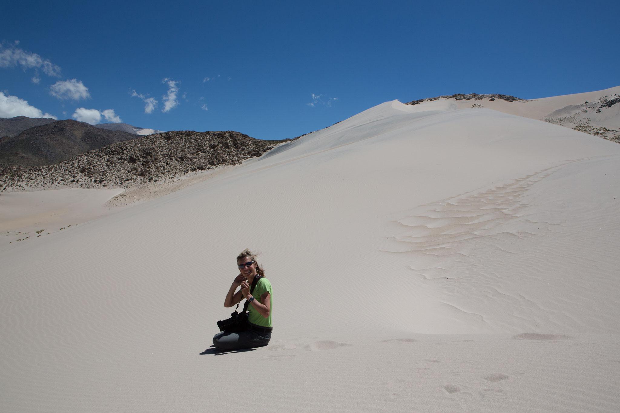 Sandwüste bei Piedra Pomez