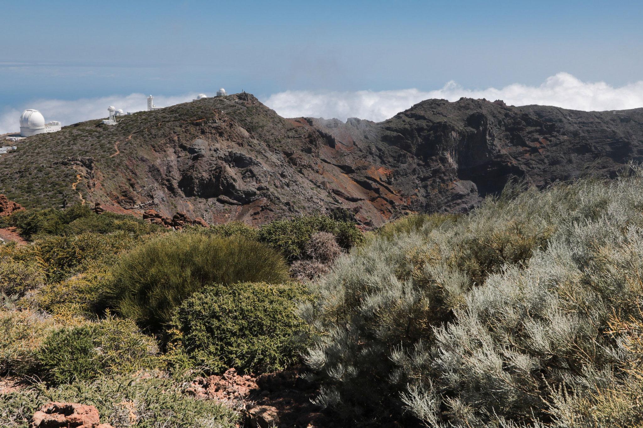 Blick vom Roque de las Muchachos in die Caldera de Taburiente