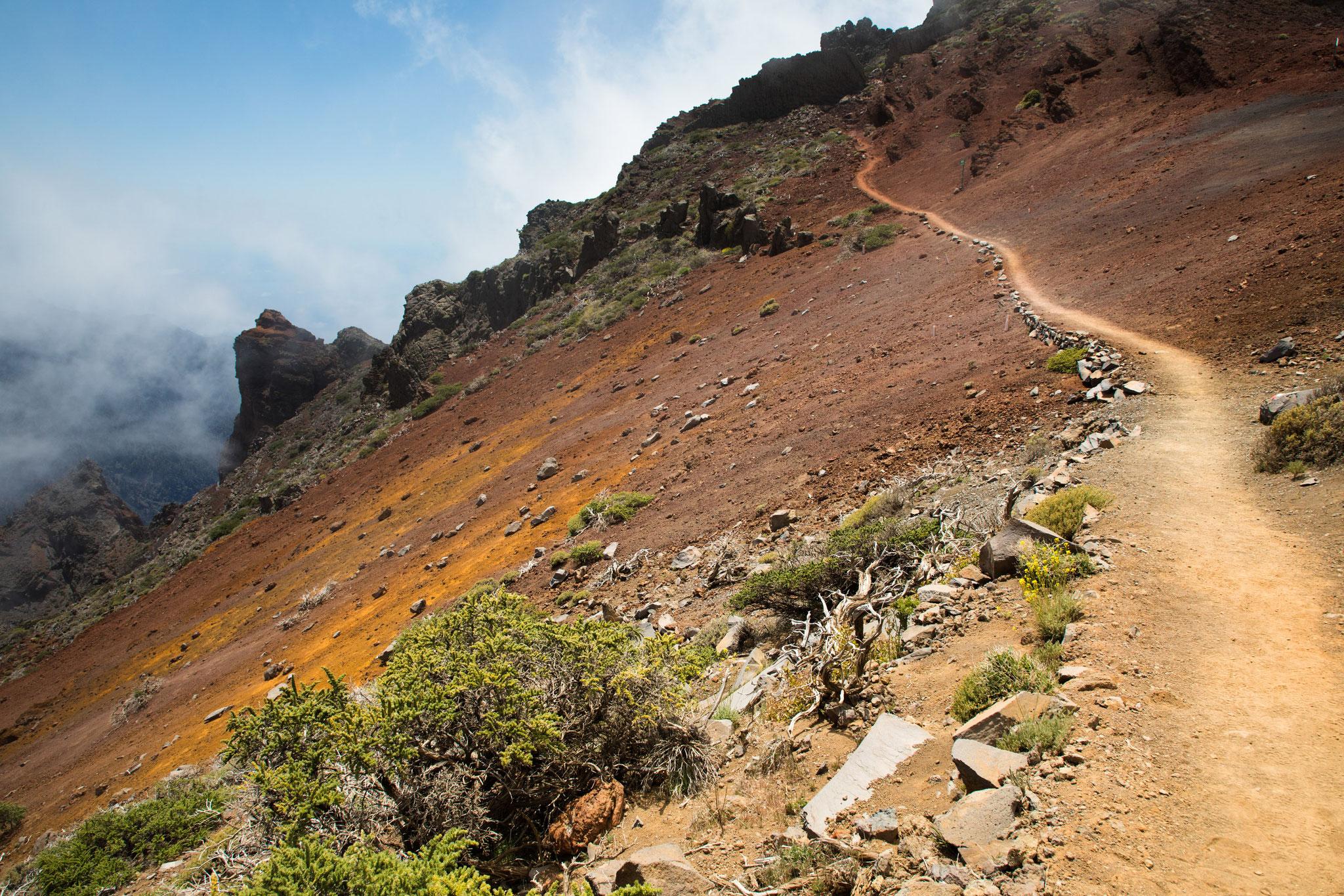 Wanderung am Kraterrand - Pared de Roberto