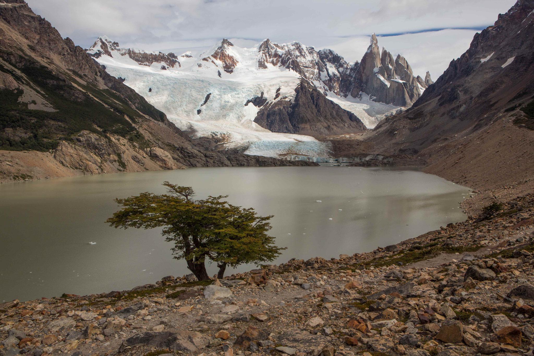 Laguna Torre am Cerro Torre
