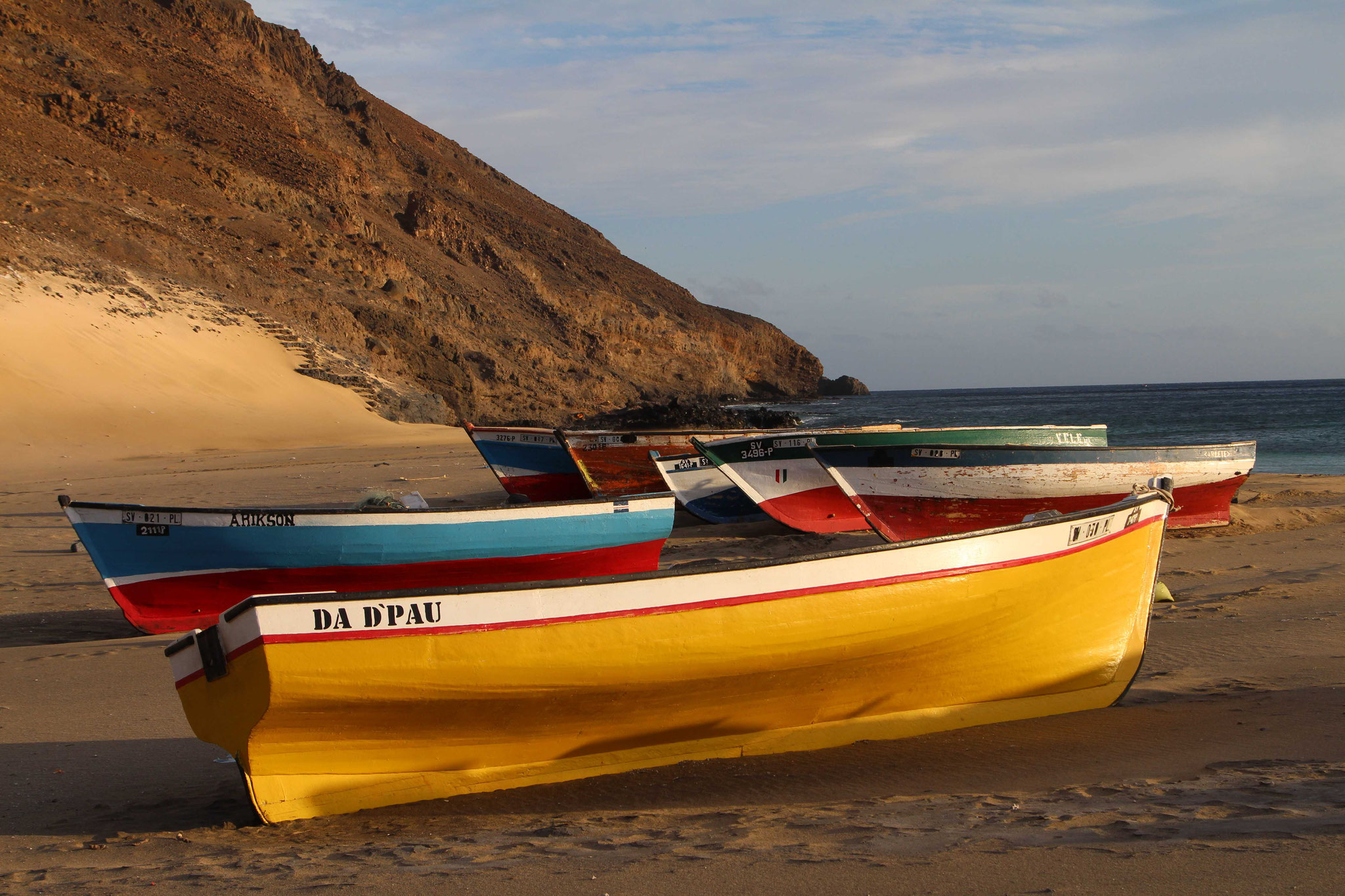 Sao Vicente - Im Fischerdorf Sao Pedro
