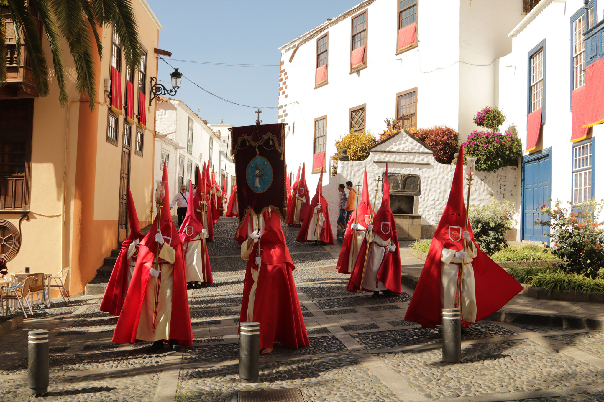 Prozession in Santa Cruz de la Palma