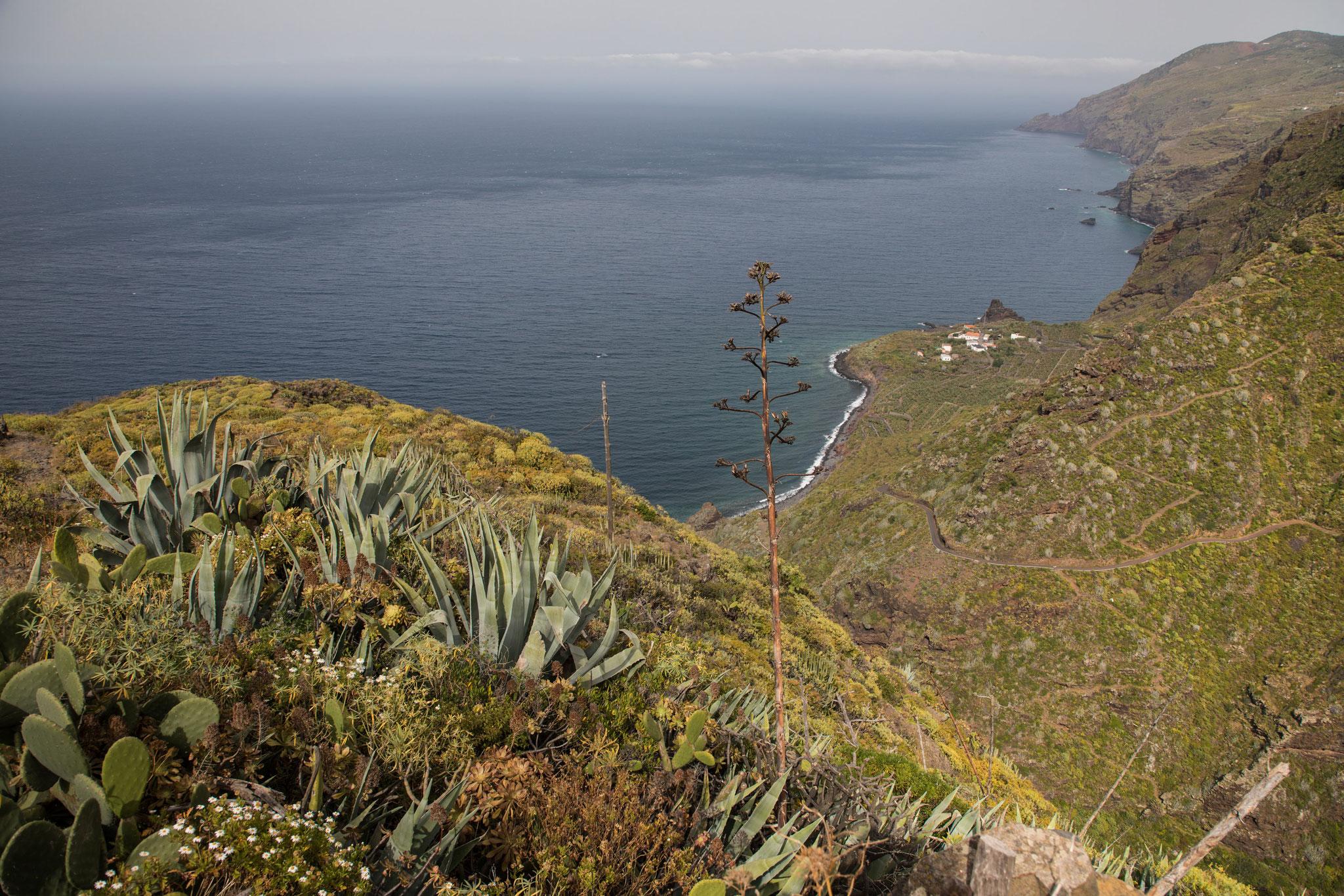 Entlegenes Dorf El Tablado