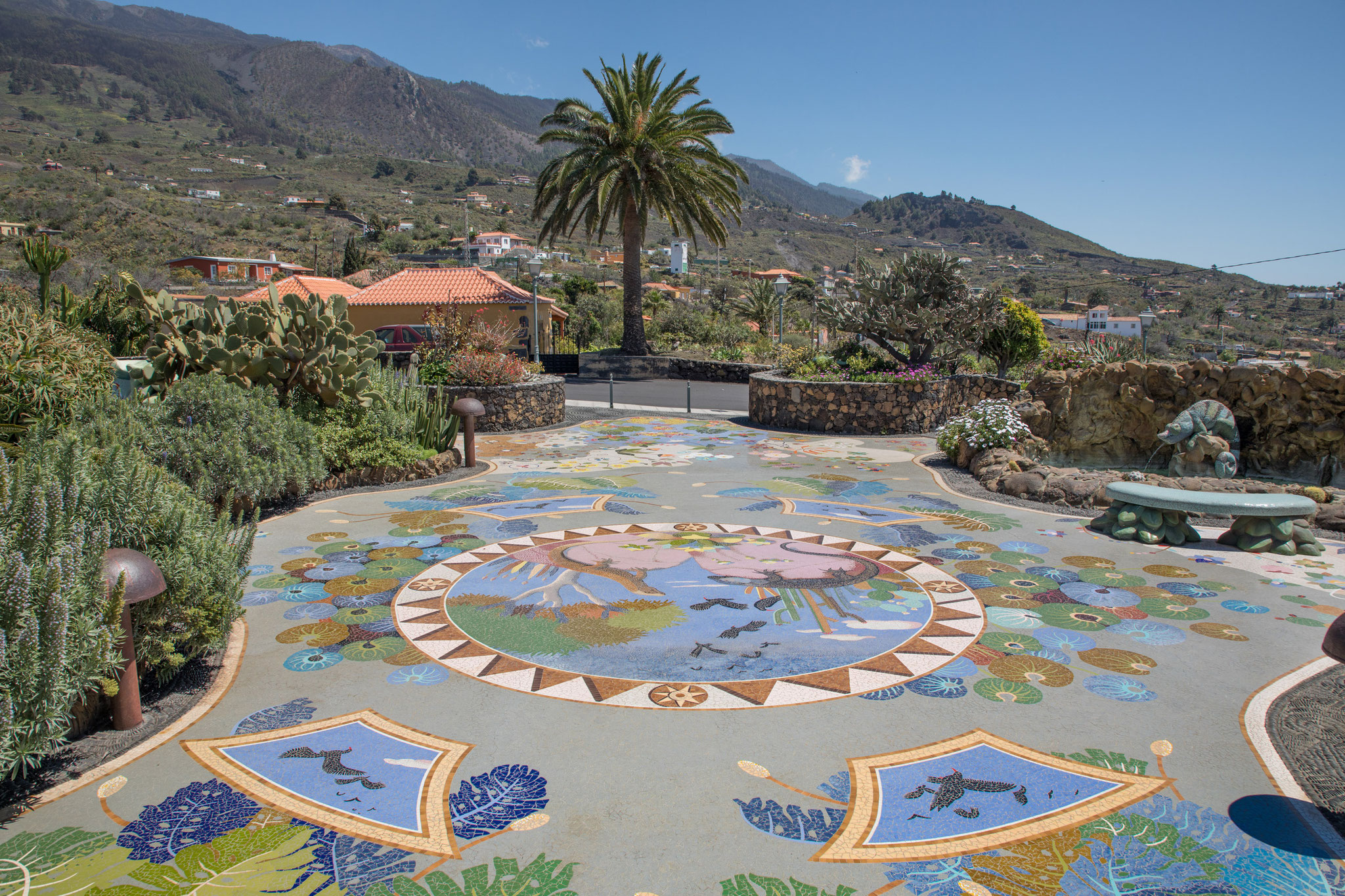 Plaza de la Glorieta in Las Manchas