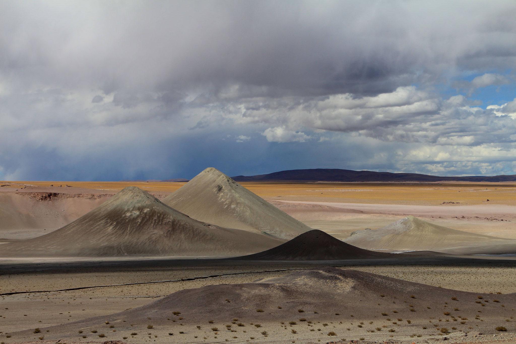 Endlich in Argentinien - Auf der Abfahrt vom Paso Sico