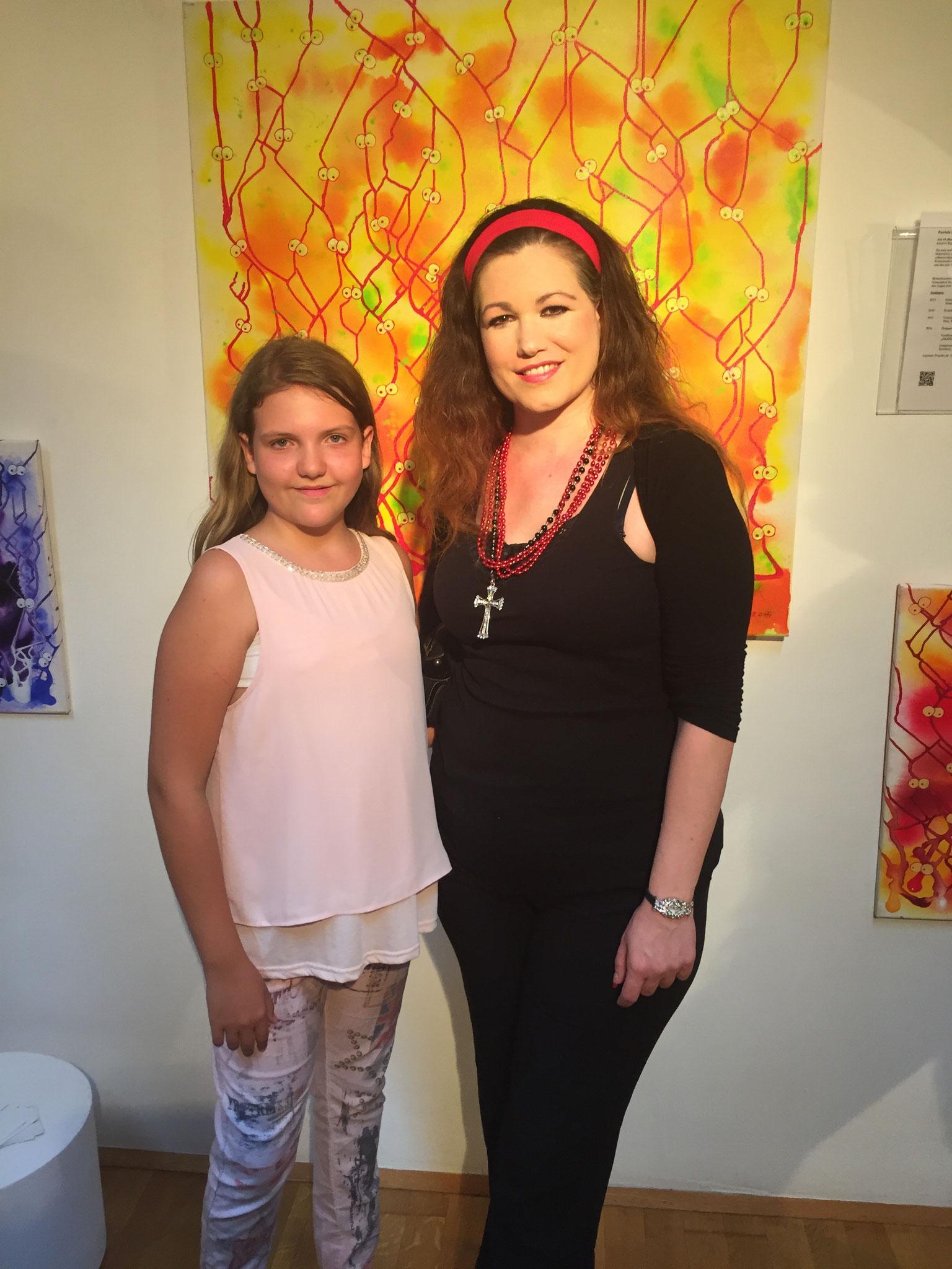 Künstlerin Eva Meindl - 27.8.2016