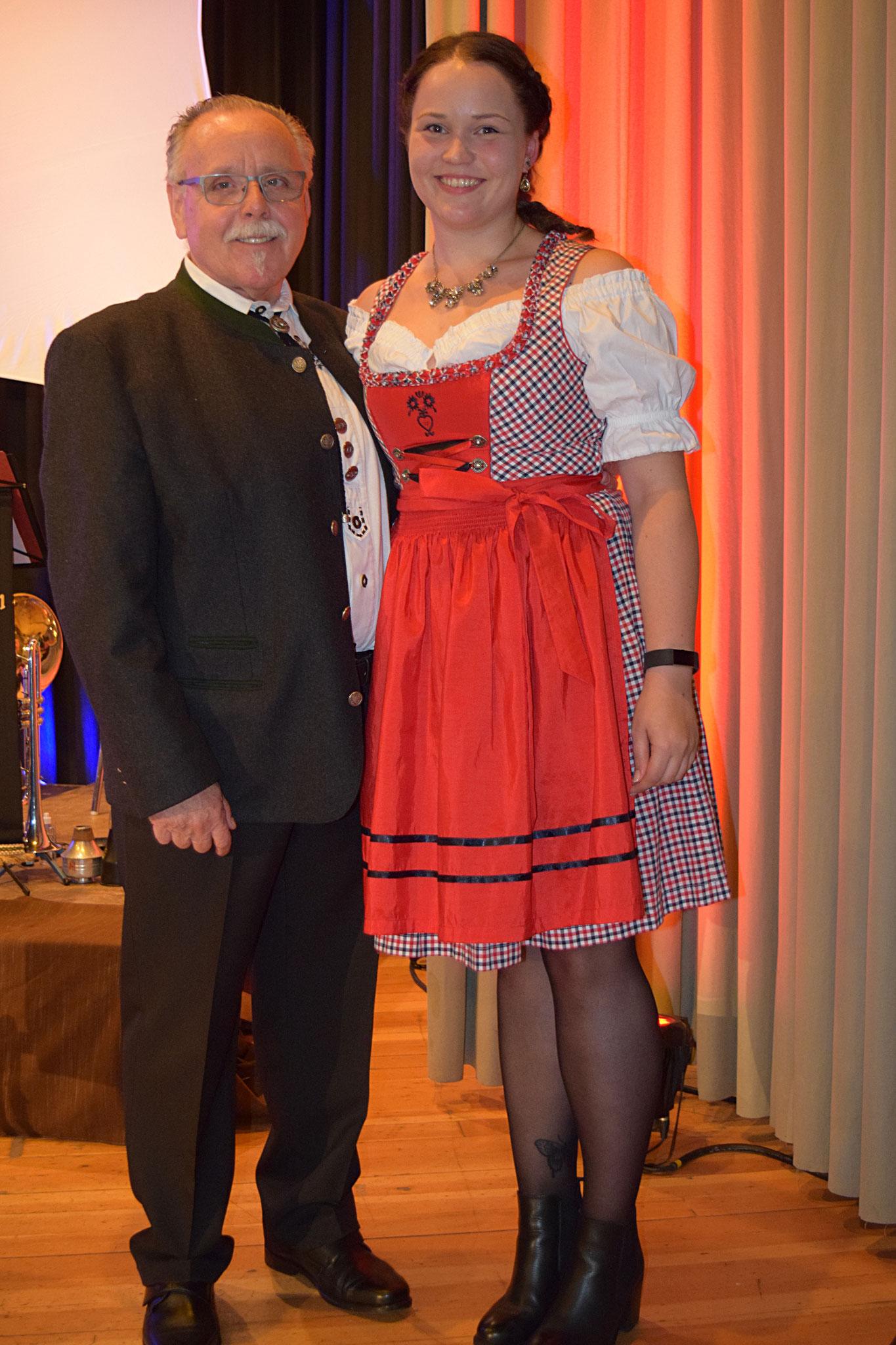 Harald Lesch mit Jacqueline Rössler