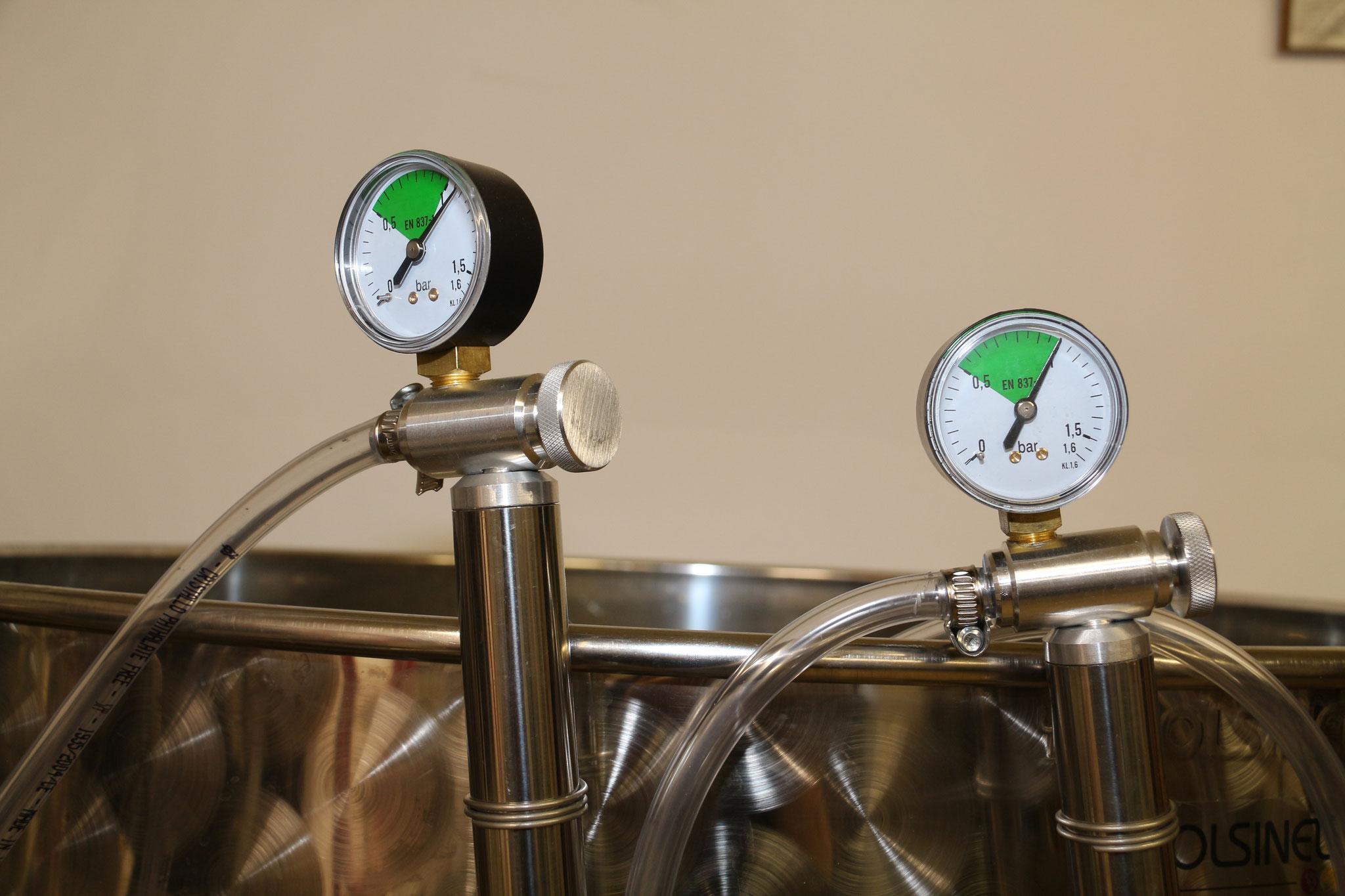 5 - Première fermentation en cuve