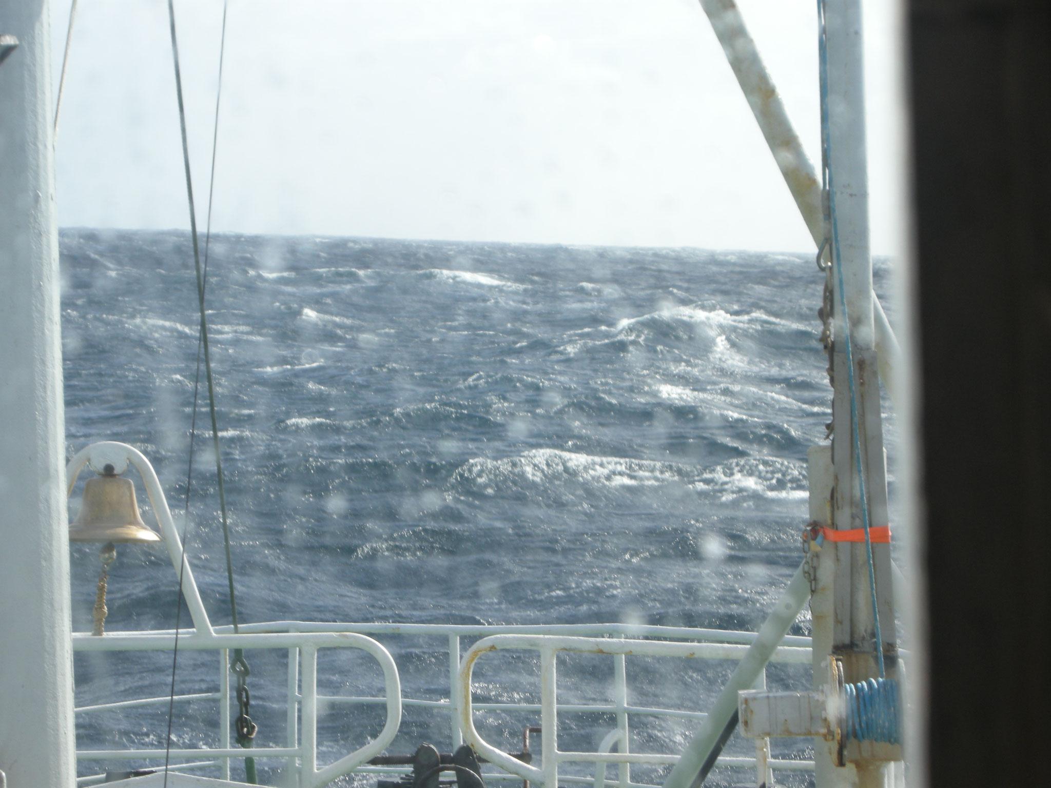 Sturm Windstärke 10 in der Biskaya