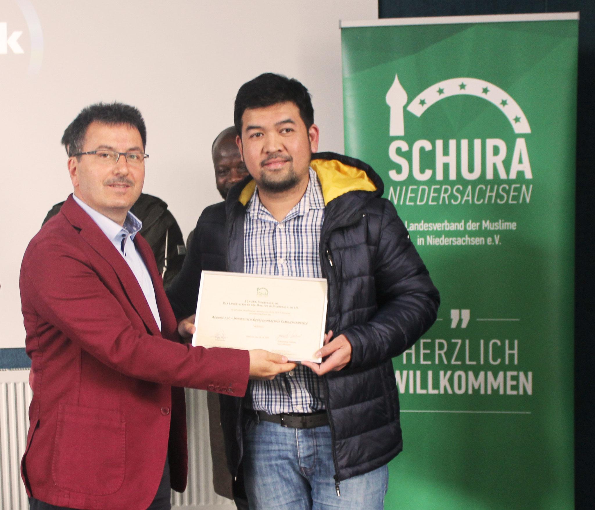 SCHURA Niedersachsen verstärkt Ihre Vielfalt auf der Jahreshauptversammlung 28.04.2019