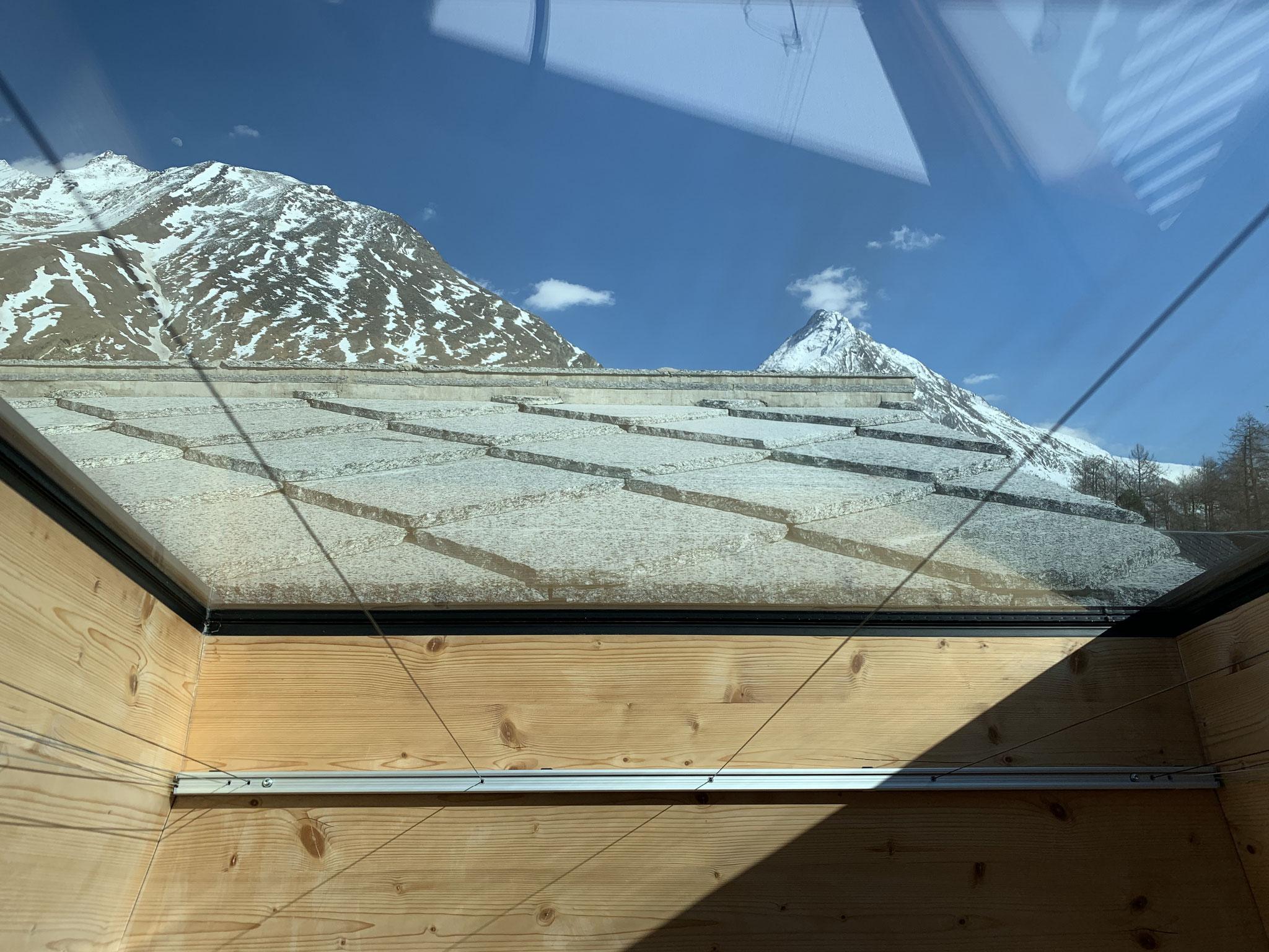 ... Dachfenster mit Plissee