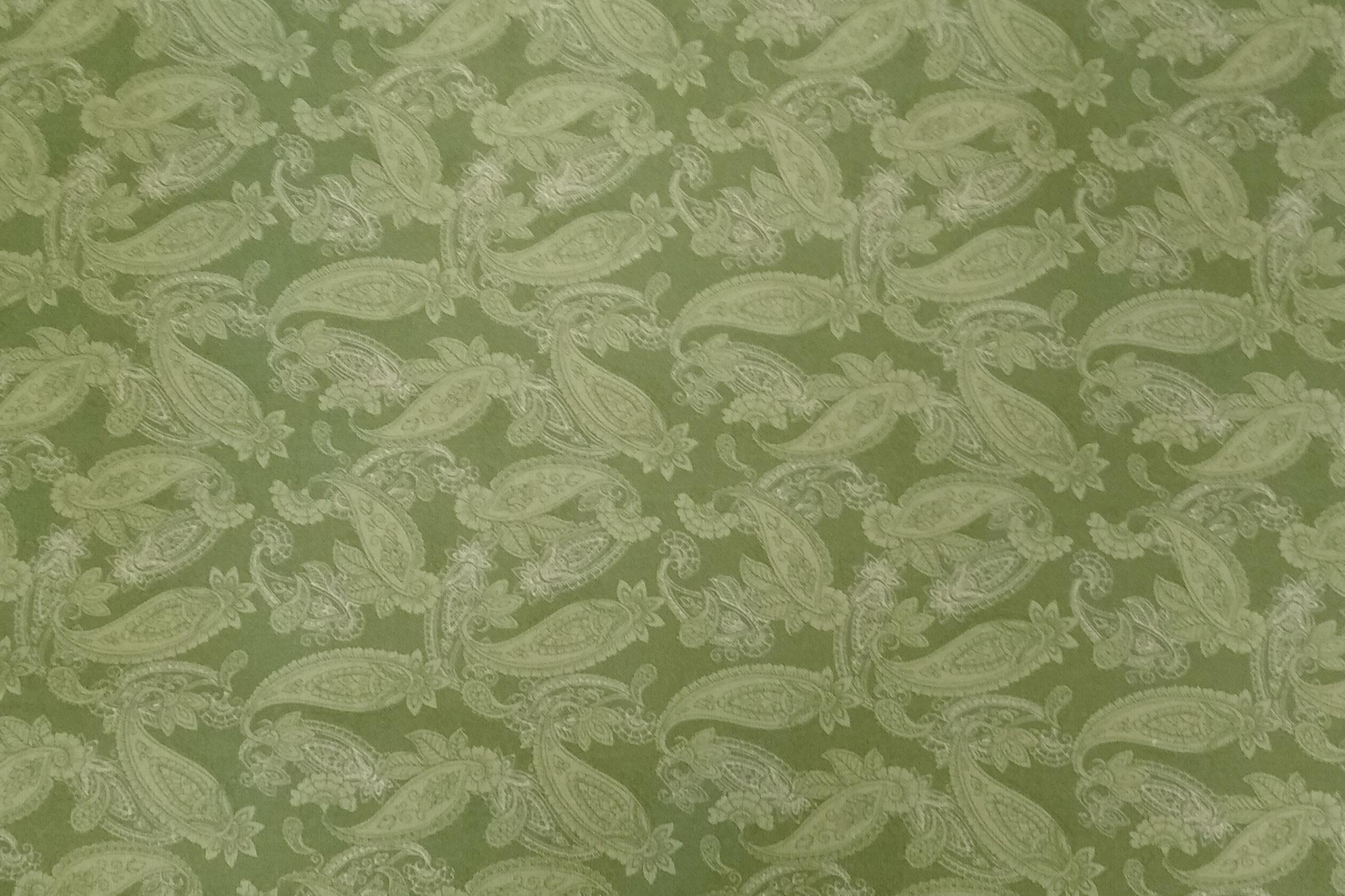 Baumwolle Paisley, grün, 140cm breit, 0.5m 7.00€