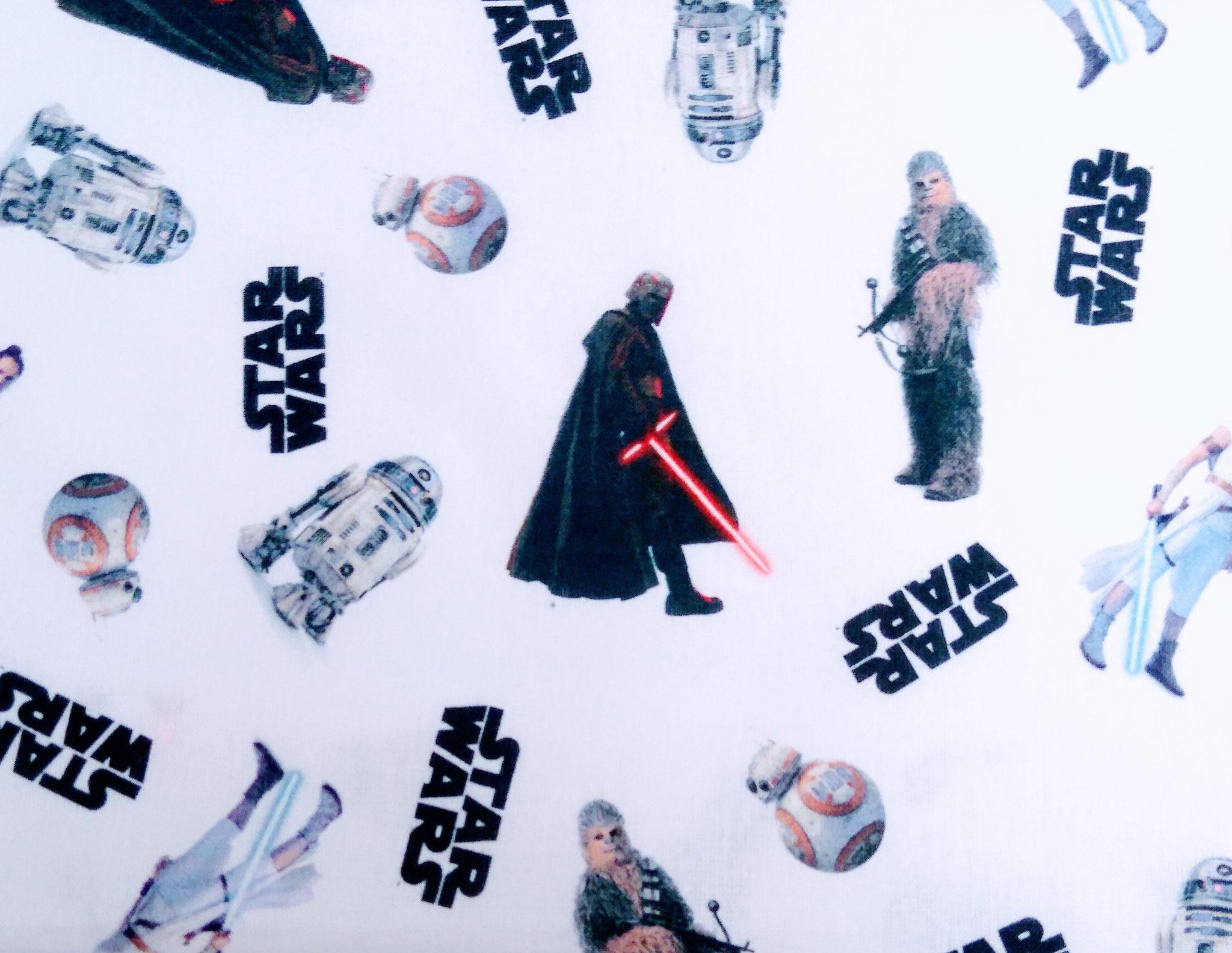 Baumwolle Star Wars, 140cm breit, 0.5m 7.50€