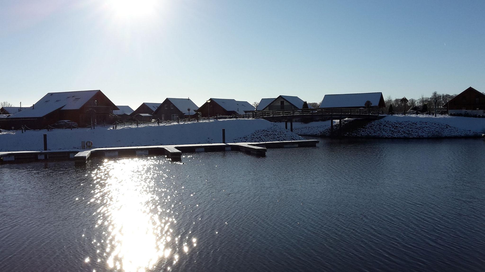 Winter am Hafen
