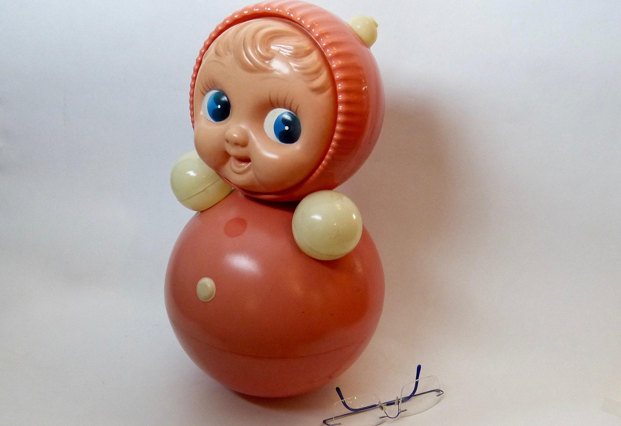 Nevalyashka Doll, merk Roly-Poly, 1959,