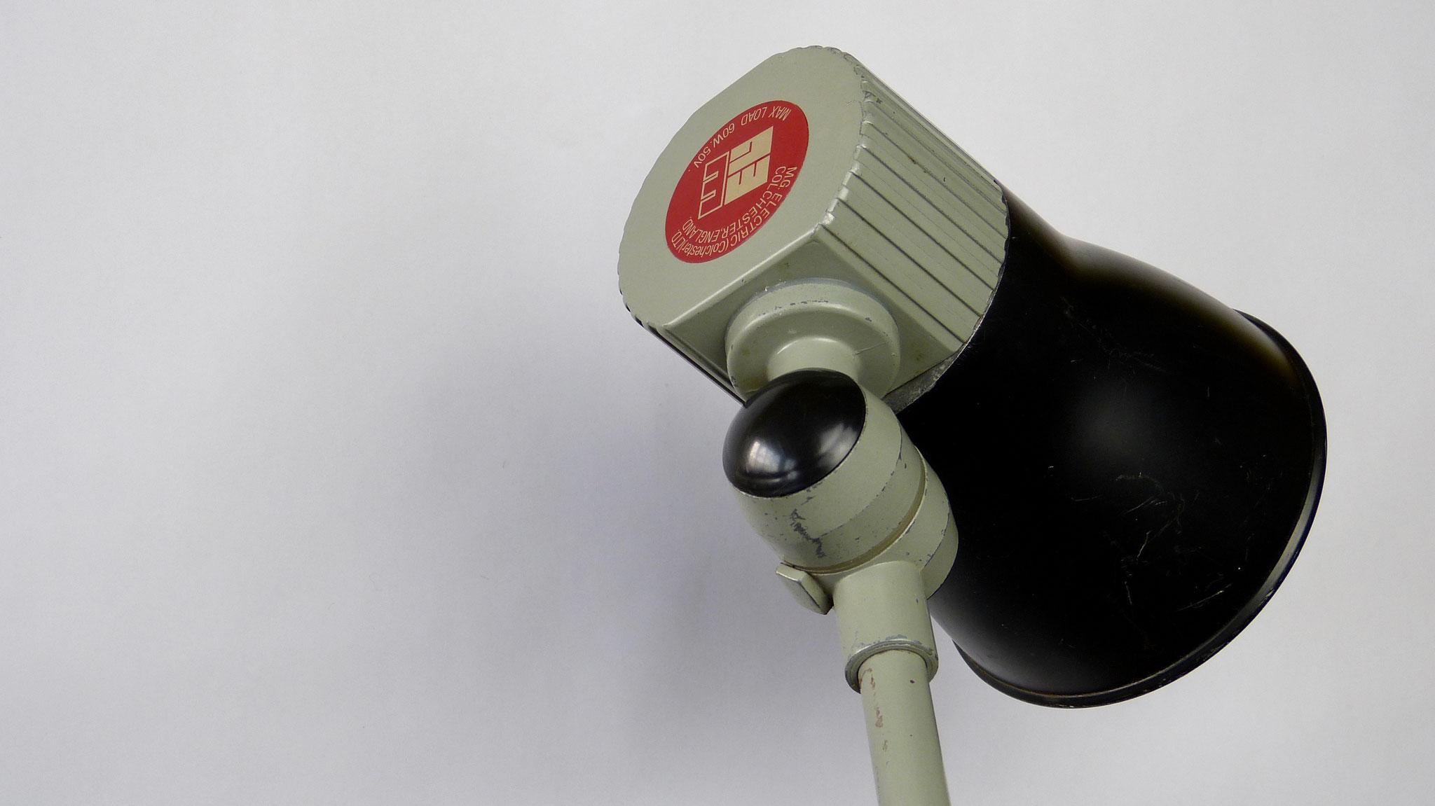 Engelse Buro-/werkplaatslamp MG Electric