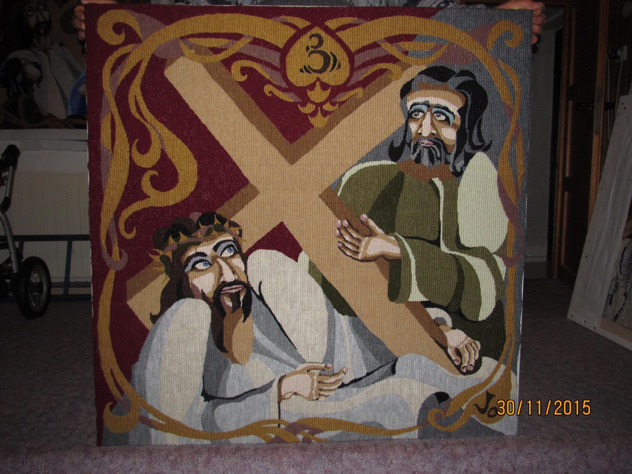 III. Padá pod křížem