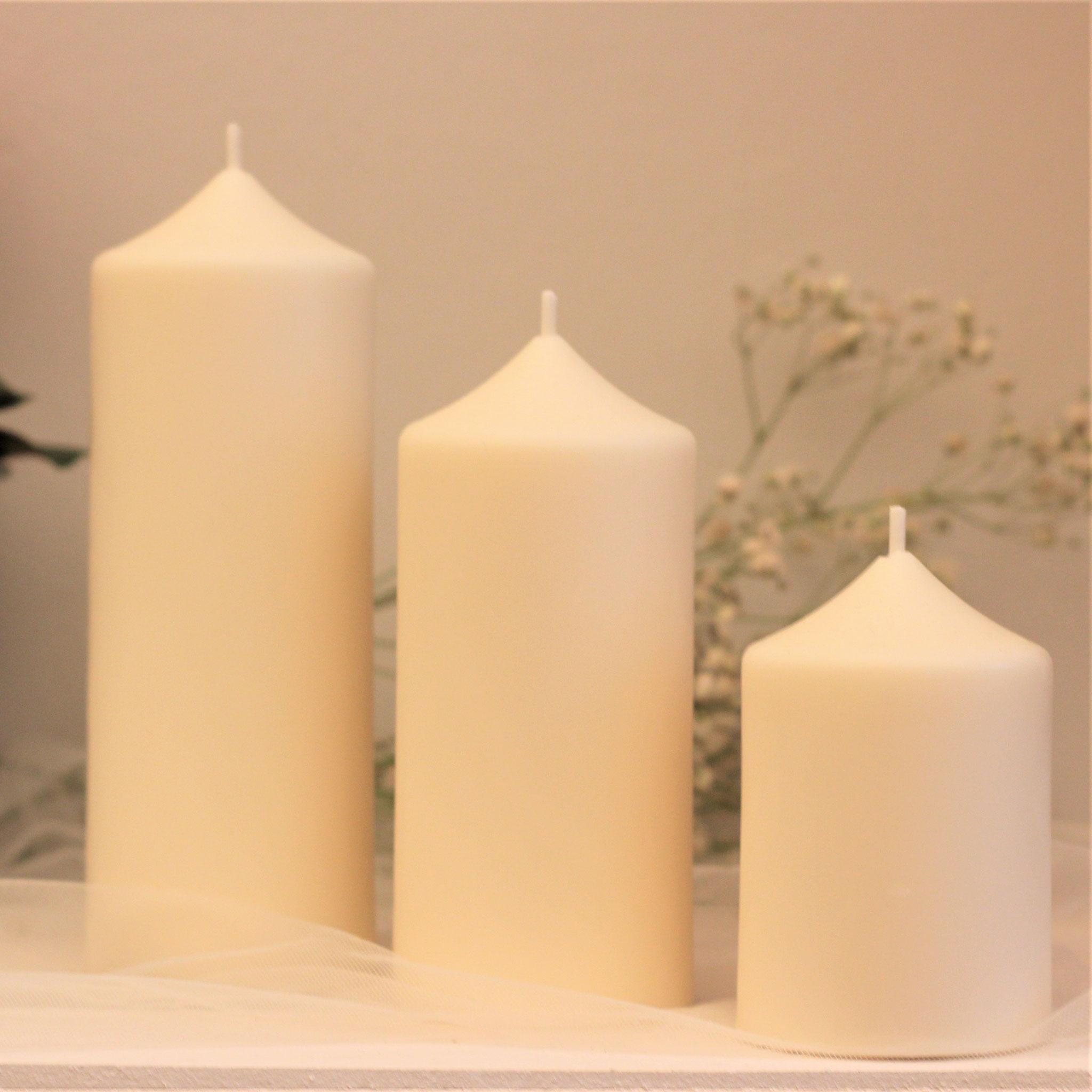Kerzengröße 6 cm Durchmesser