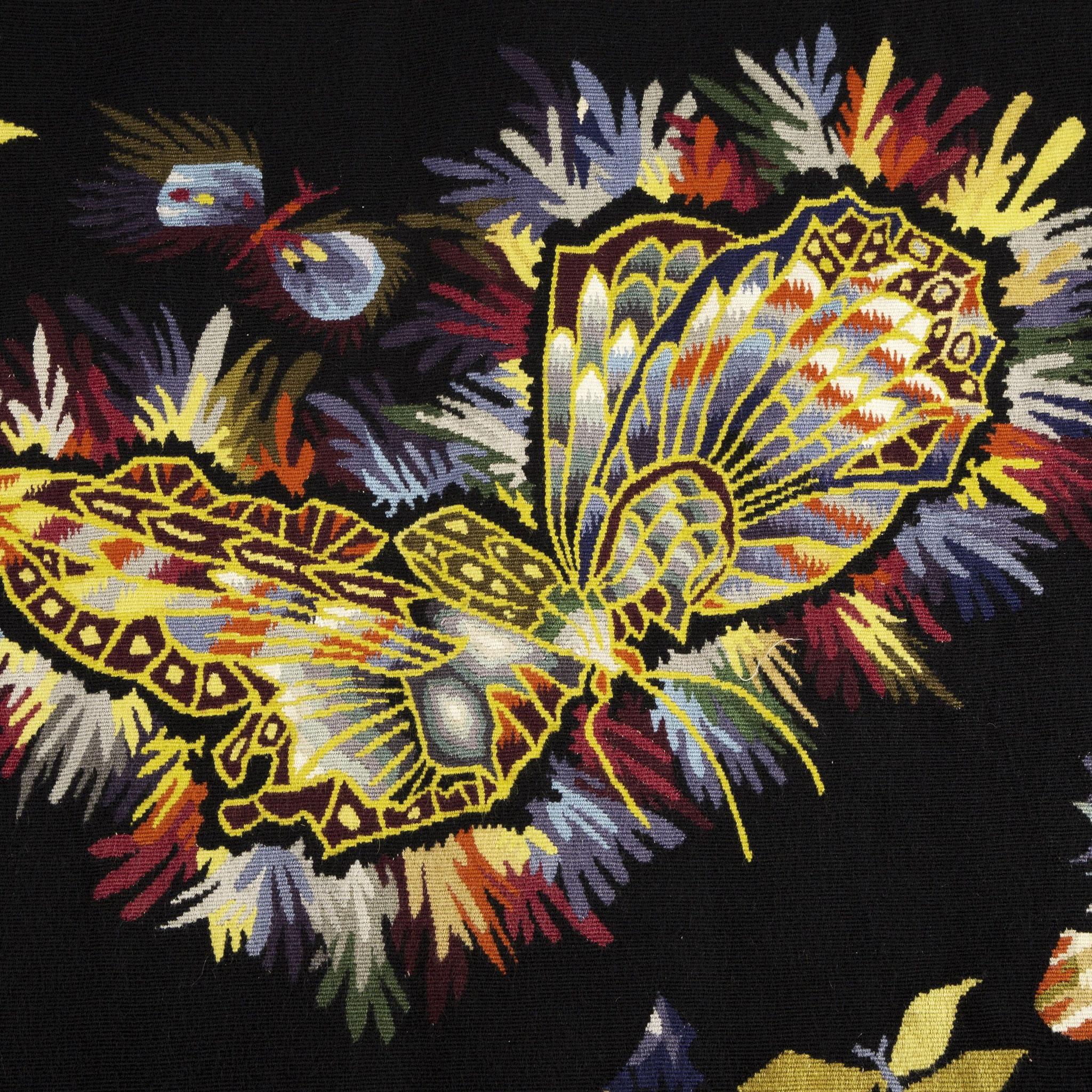 Tapisserie - Papillon © Fondation Jean et Simone Lurçat