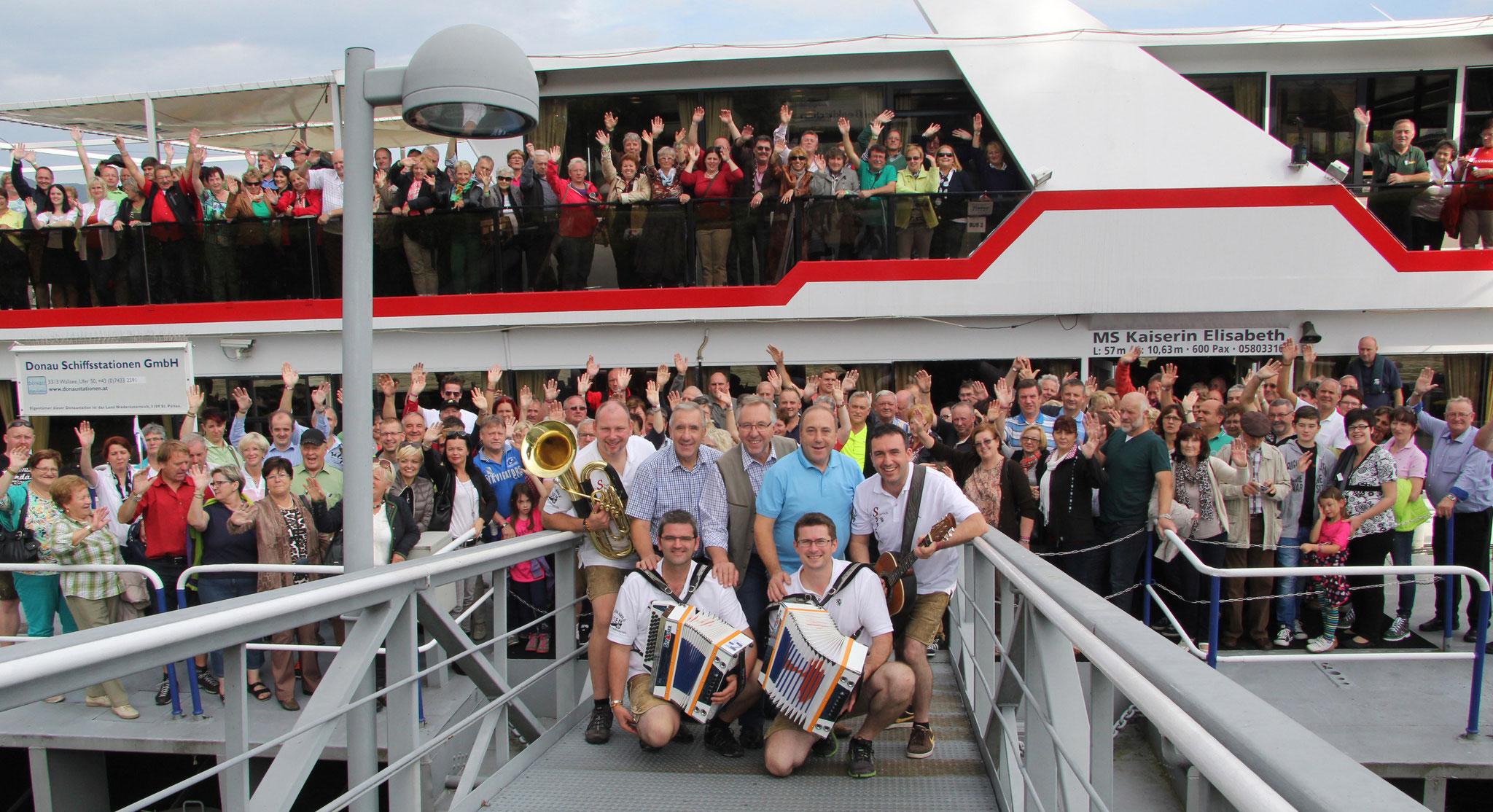 Unsere 20 Jahre Donau-Jubiläumsreise