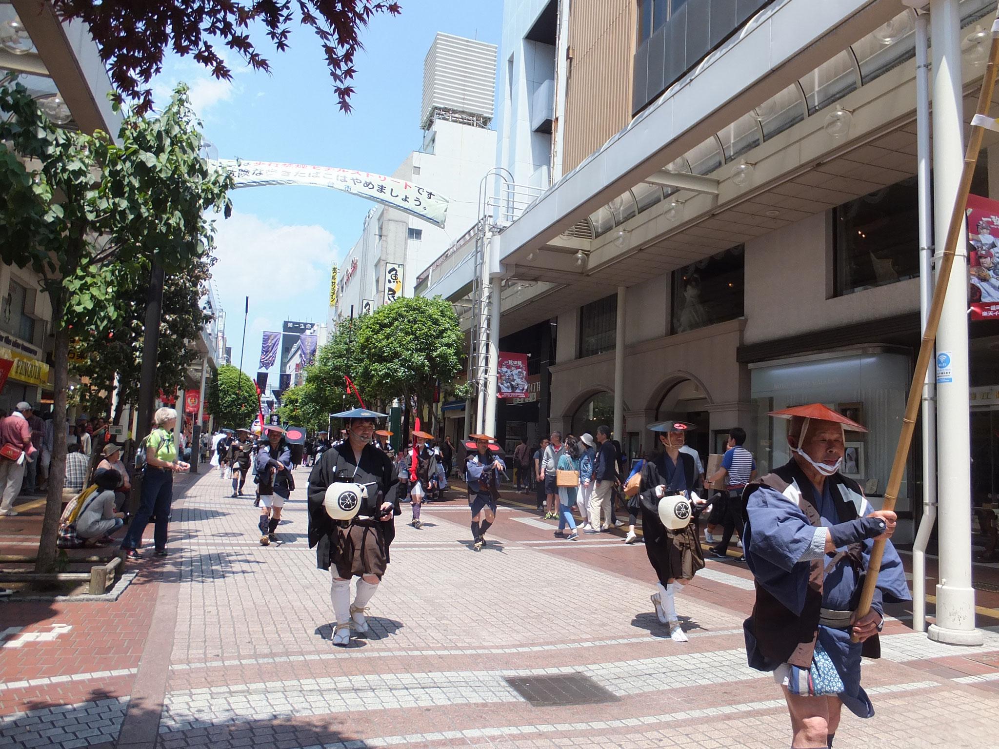 仙台市青葉まつり行列
