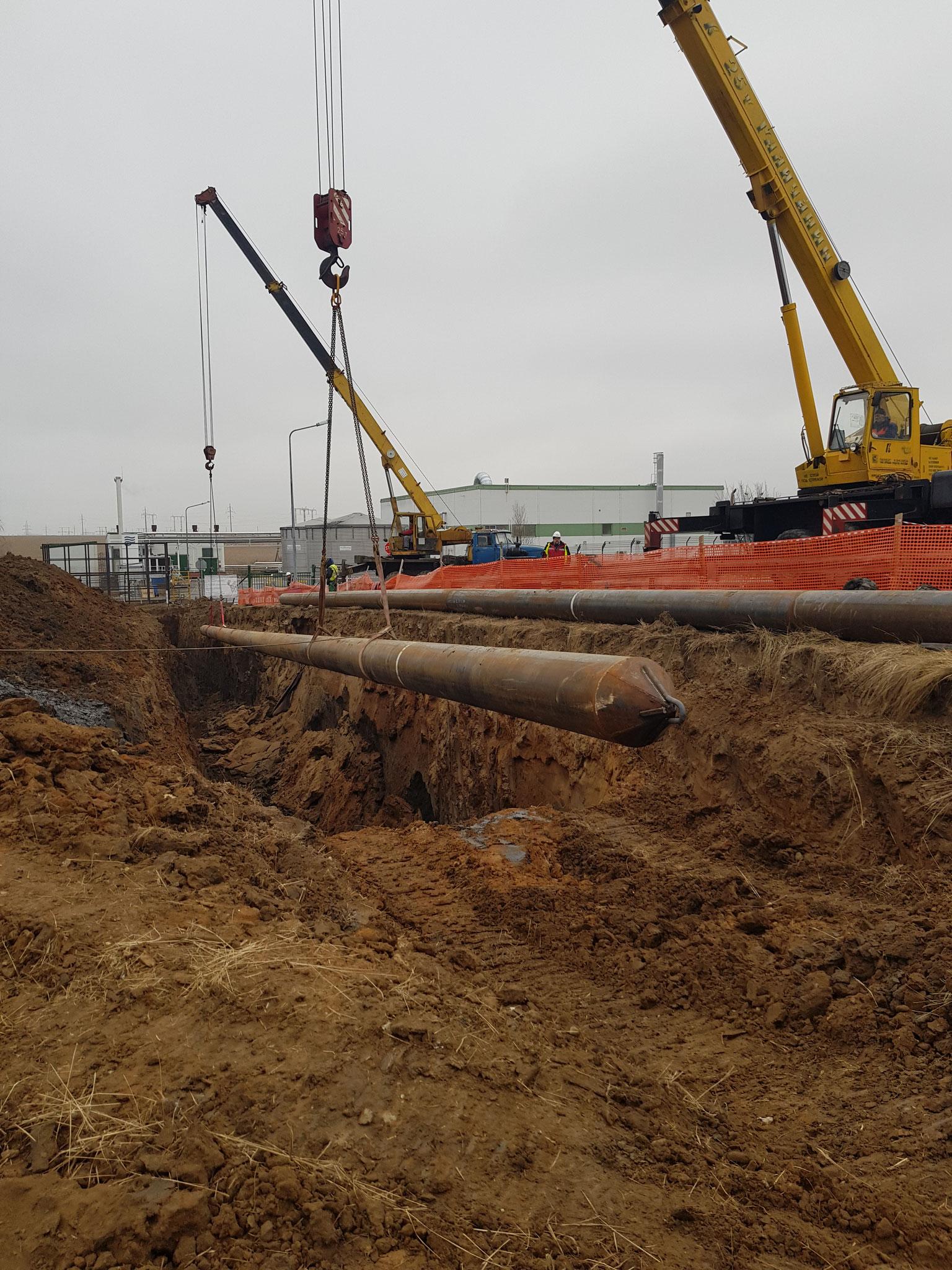 Реконструкция ливневой канализации в Ступино