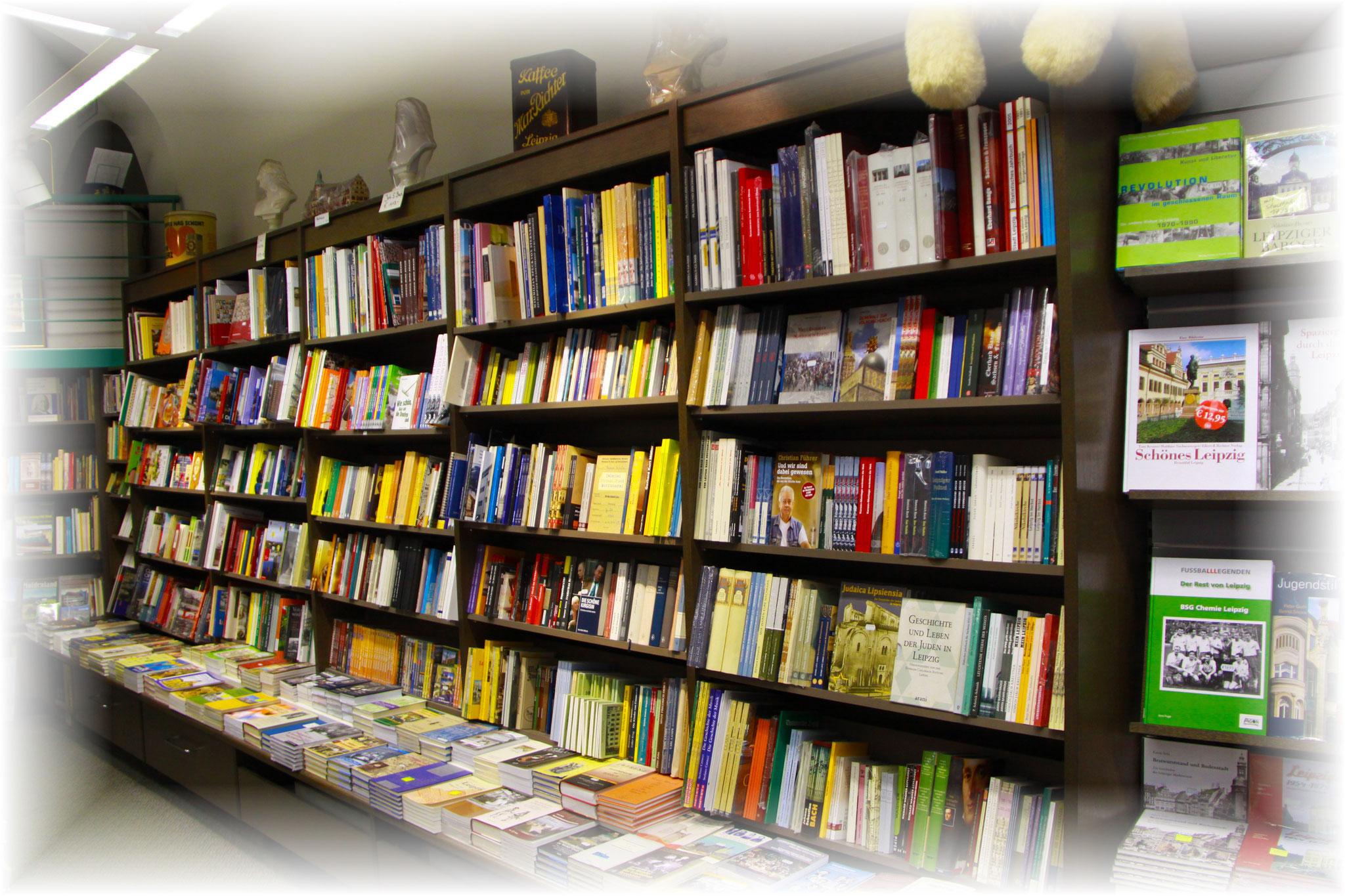 Bücher über Leipzig und Sachsen