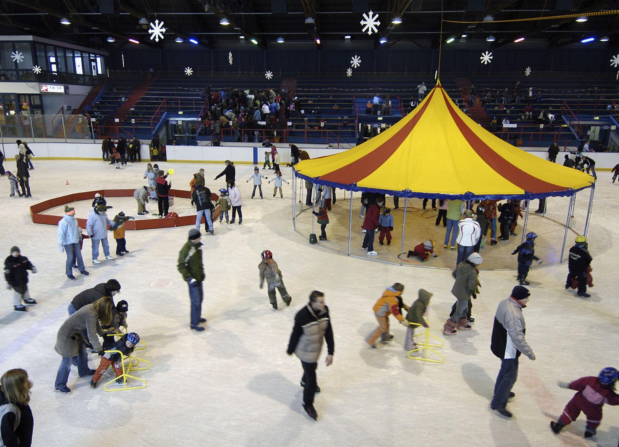 Zirkus auf dem Eis