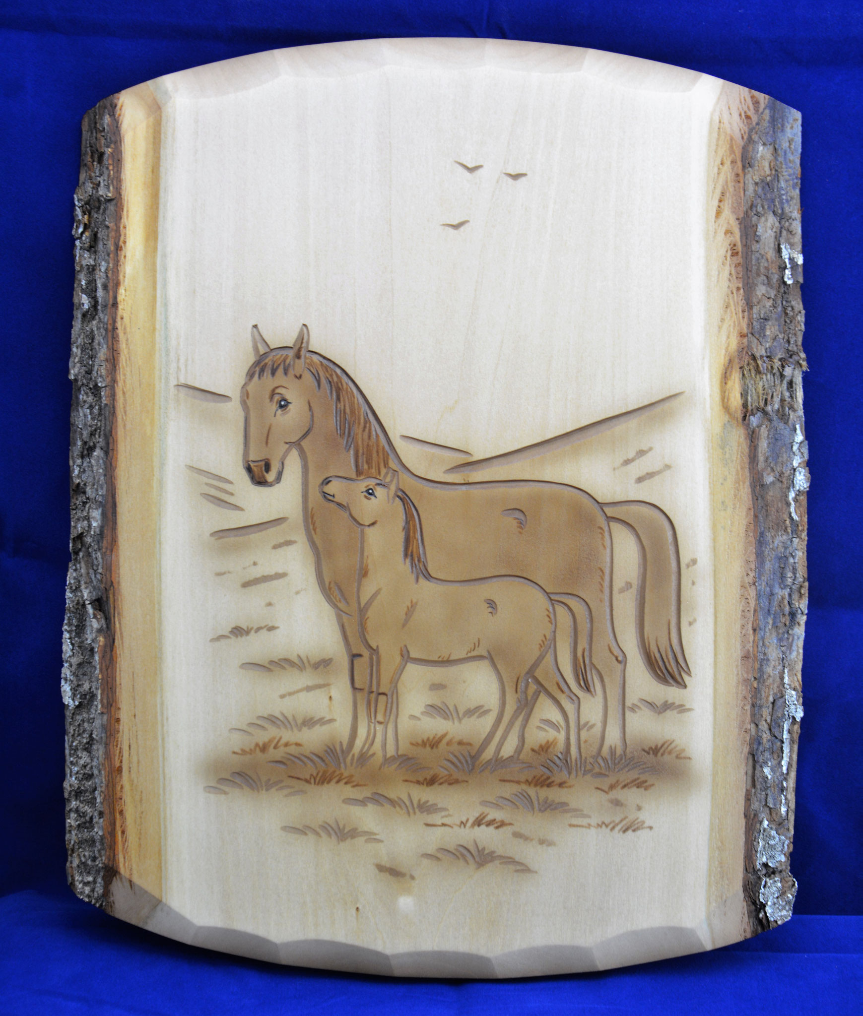 07.068.0F Pferd mit Fohlen