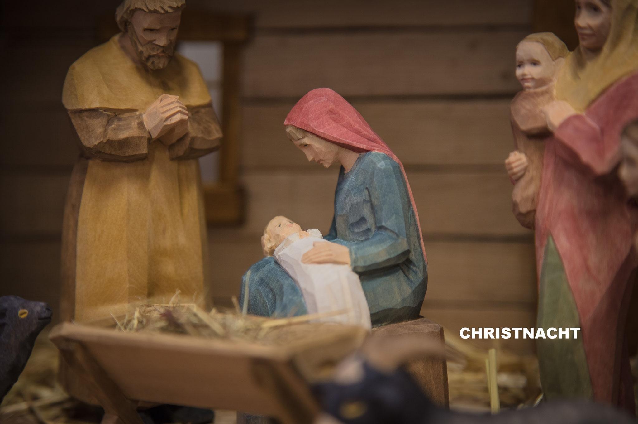 Krippenfiguren Christnacht